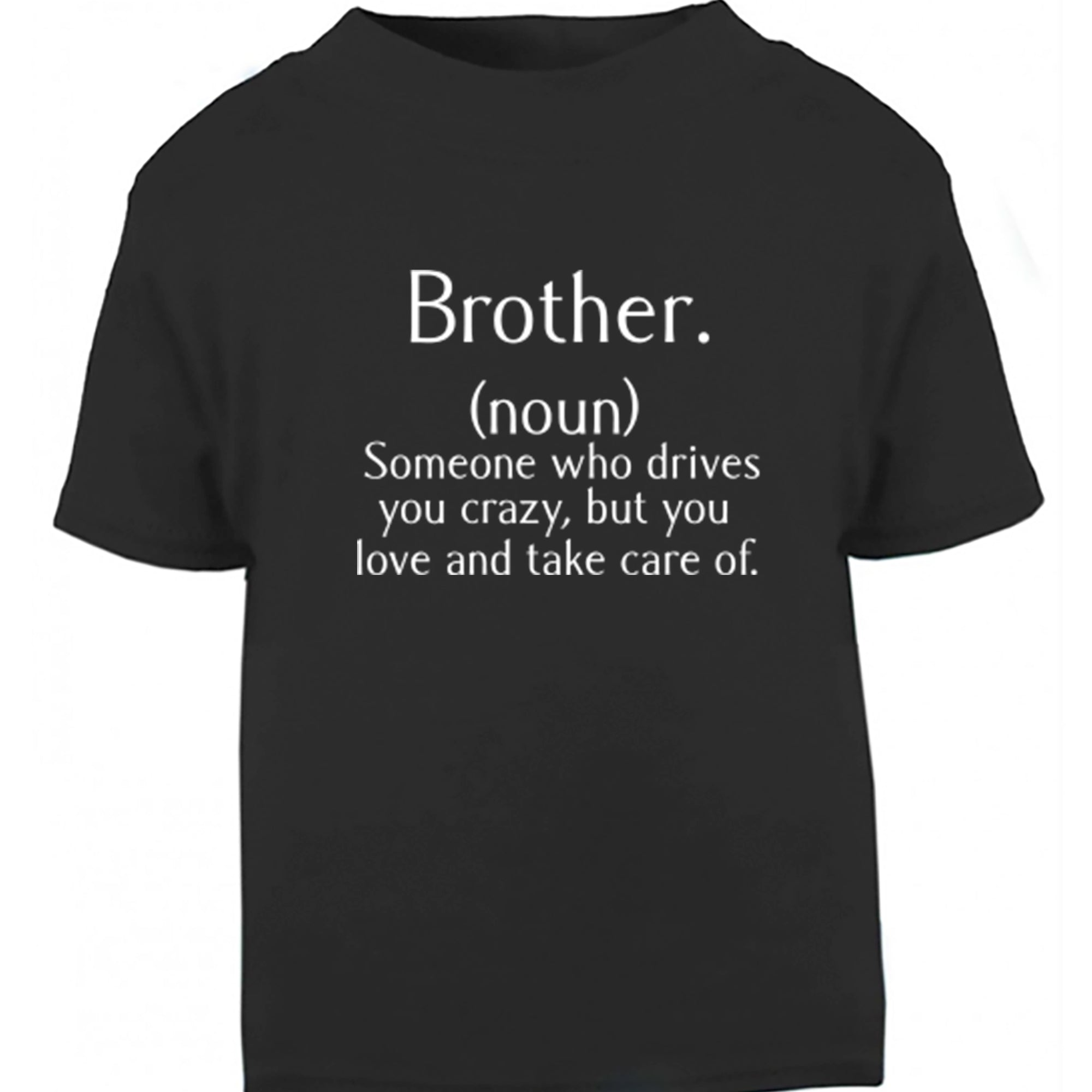 Brother Definition Childrens Ages 3/4-12/14 Unisex Fit T-Shirt S0313 - Illustrated Identity Ltd.