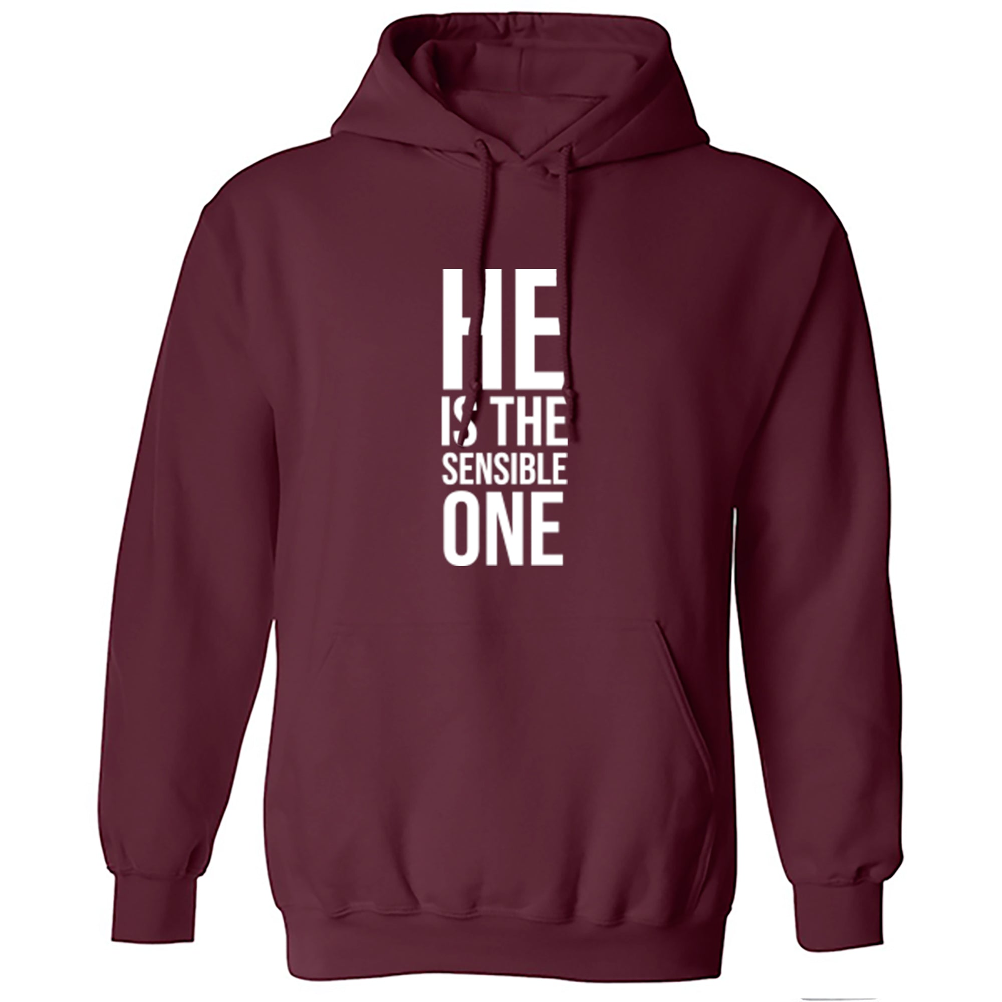 He Is The Sensible One Unisex Hoodie S0340 - Illustrated Identity Ltd.