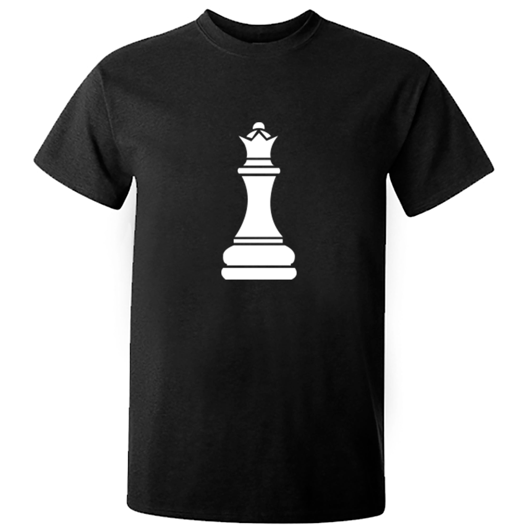 Queen Chess Piece Unisex Fit T-Shirt S0343 - Illustrated Identity Ltd.