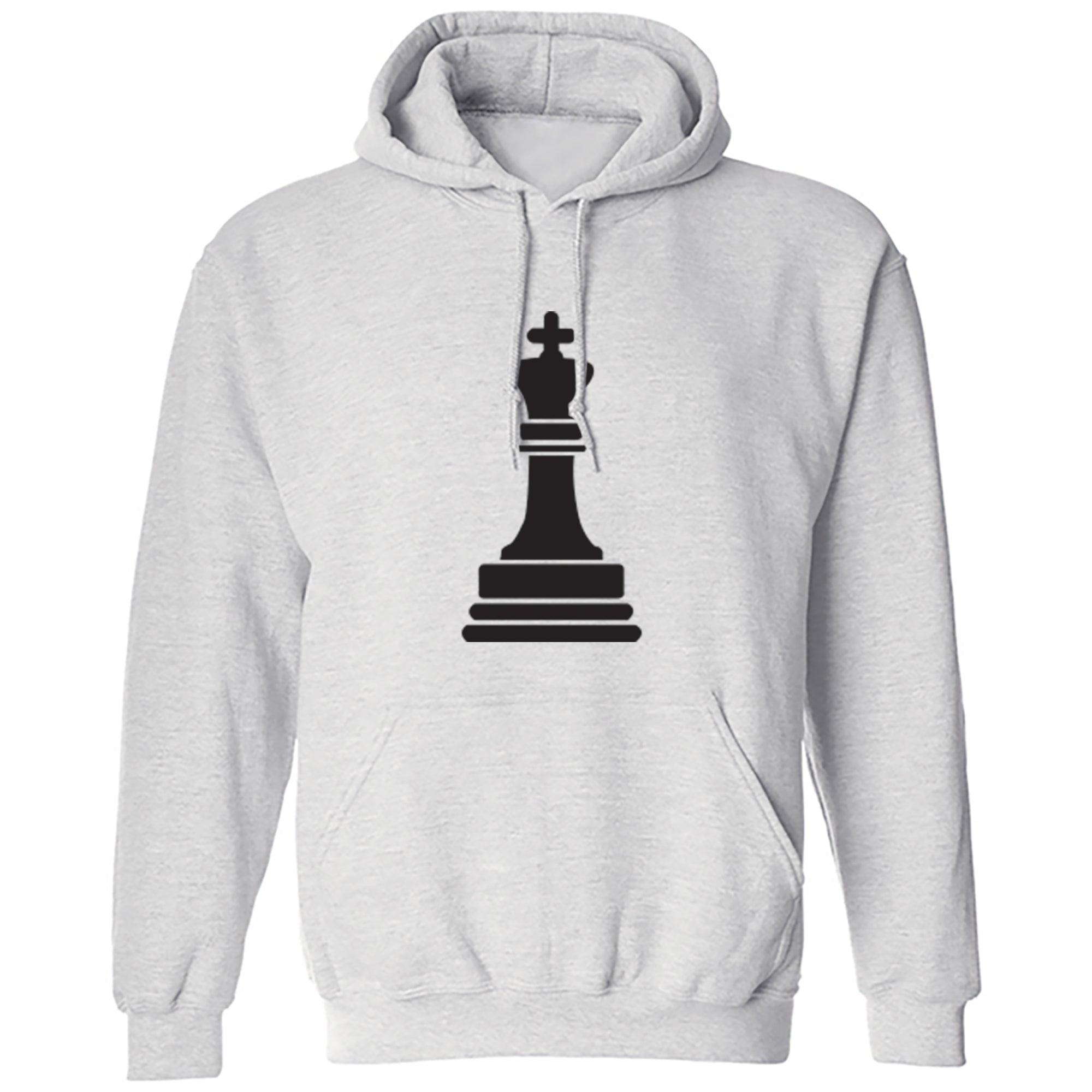 King Unisex Hoodie S0344 - Illustrated Identity Ltd.
