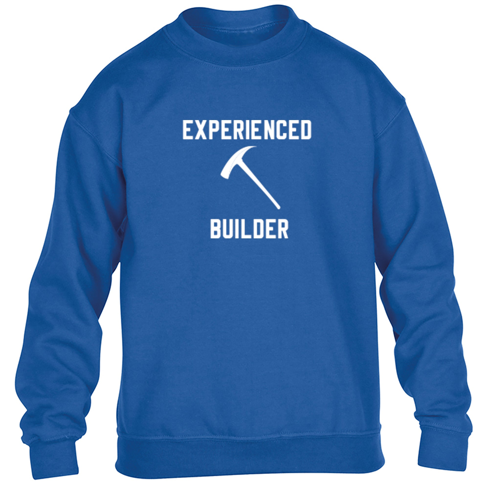 Experienced Builder Childrens Ages 3/4-12/14 Unisex Jumper S0387 - Illustrated Identity Ltd.