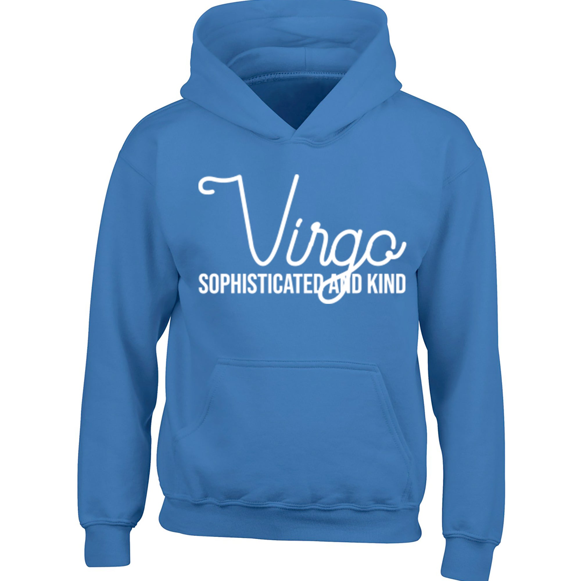 Virgo, Sophisticated And Kind Childrens Ages 3/4-12/14 Unisex Hoodie S0441 - Illustrated Identity Ltd.