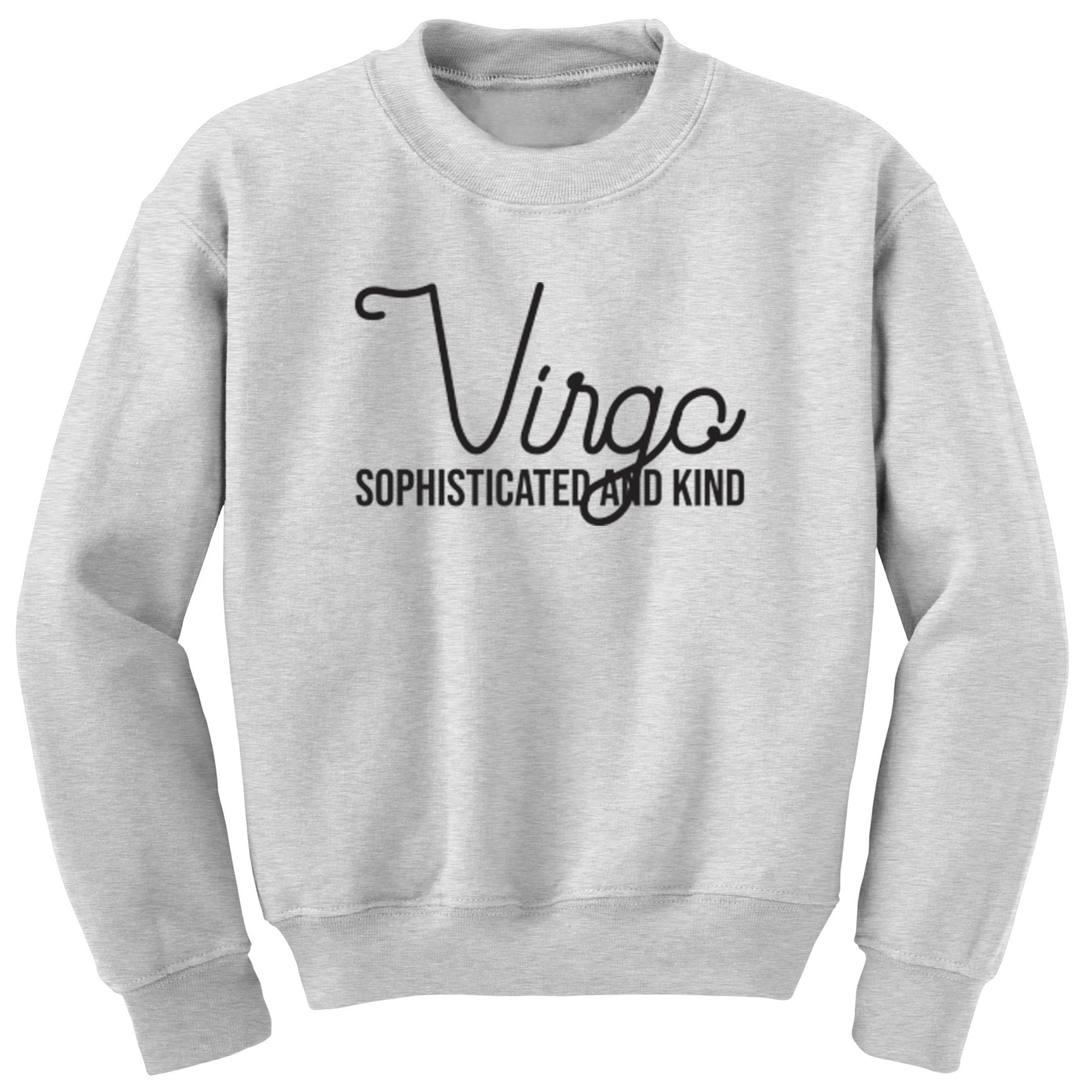 Virgo, Sophisticated And Kind Childrens Ages 3/4-12/14 Unisex Jumper S0441 - Illustrated Identity Ltd.