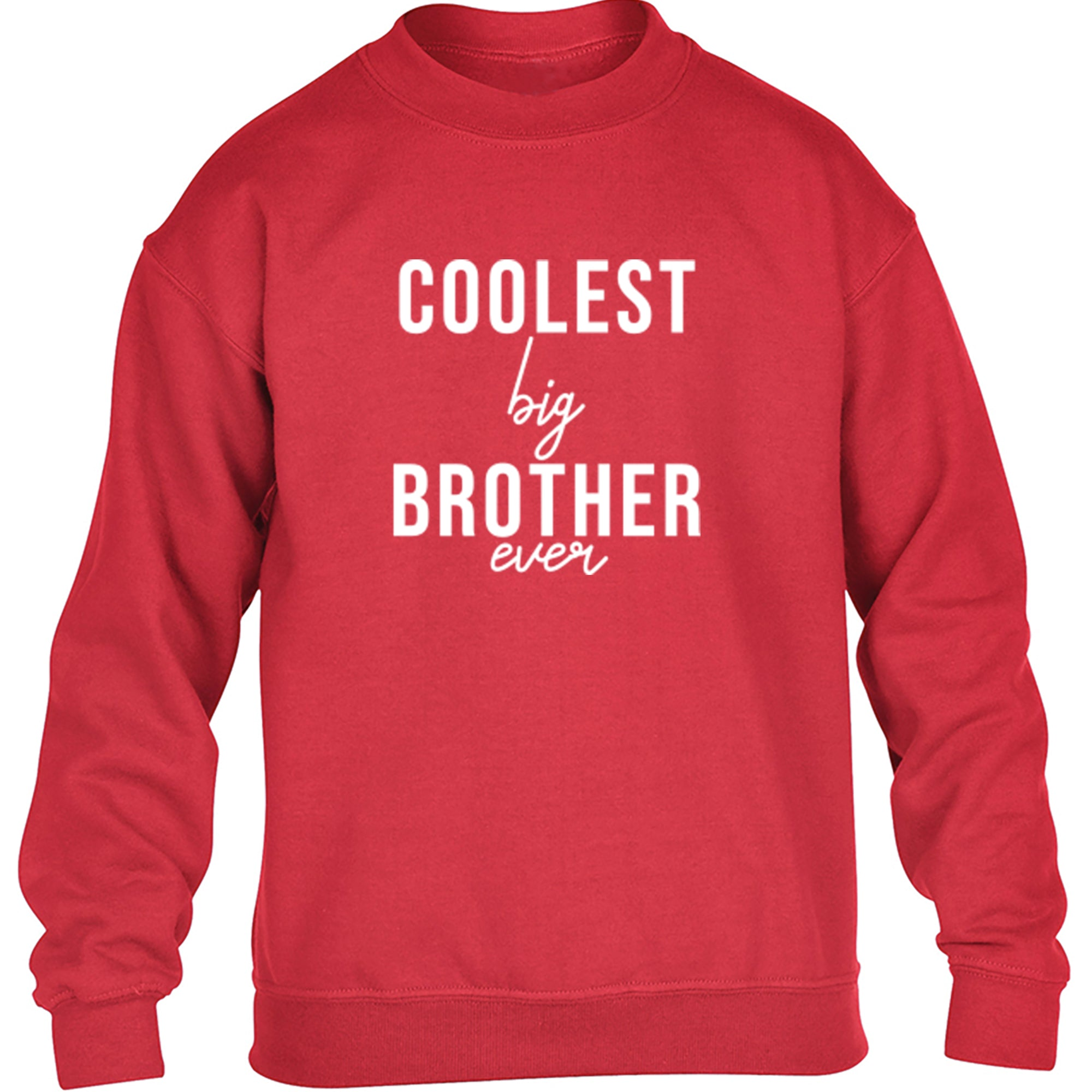 Coolest Big Brother Ever Childrens Ages 3/4-12/14 Unisex Jumper S0523