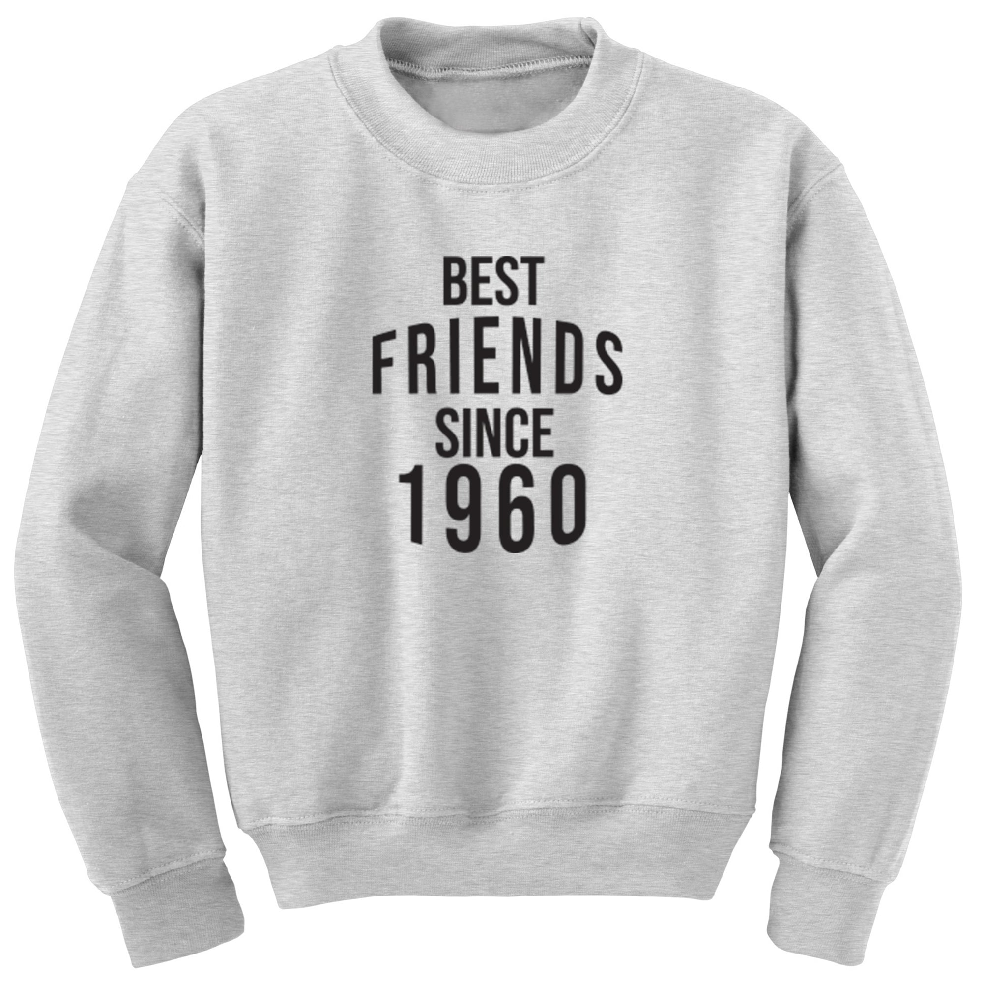 Best Friends Since 1960 Unisex Jumper S0539 - Illustrated Identity Ltd.