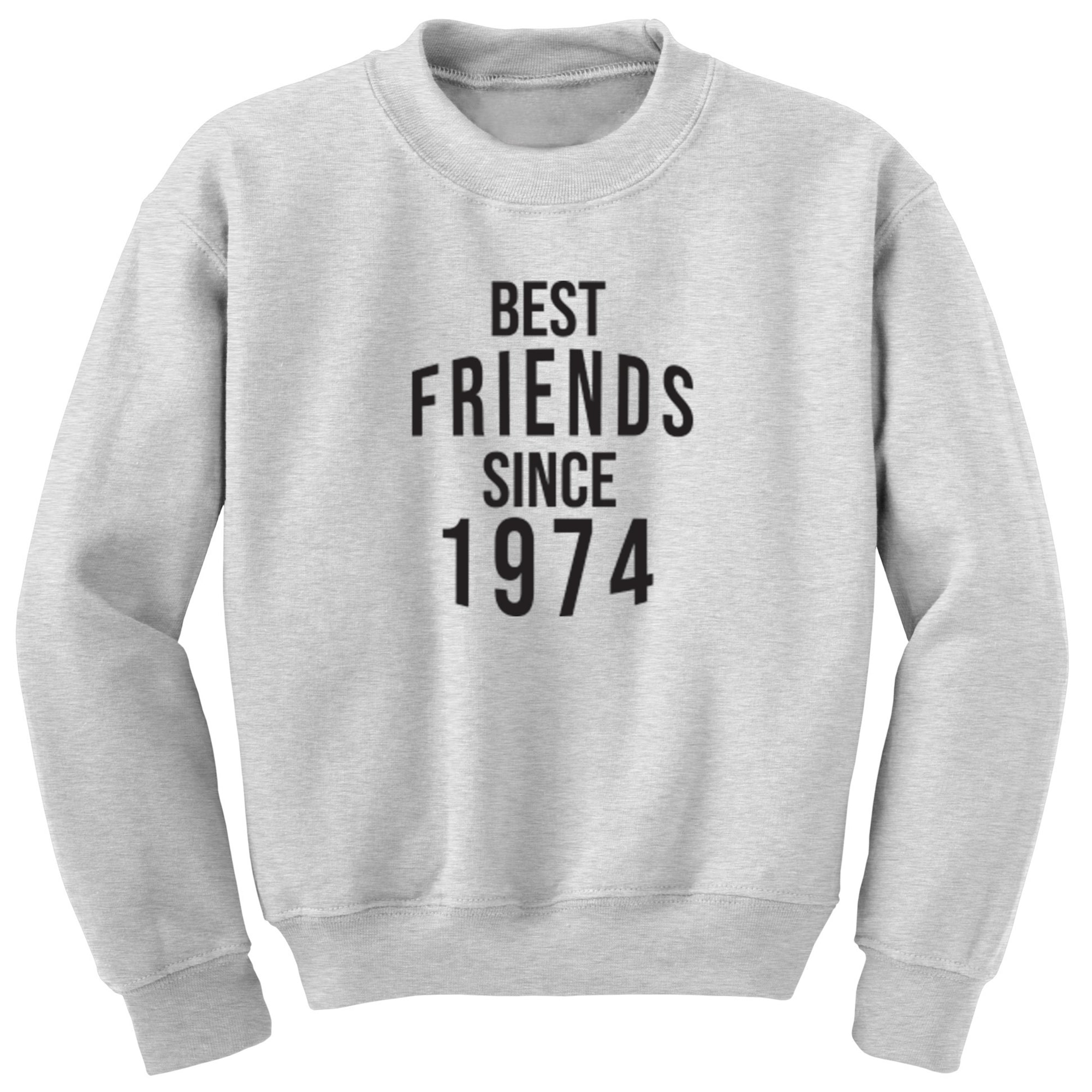 Best Friends Since 1974 Unisex Jumper S0553 - Illustrated Identity Ltd.