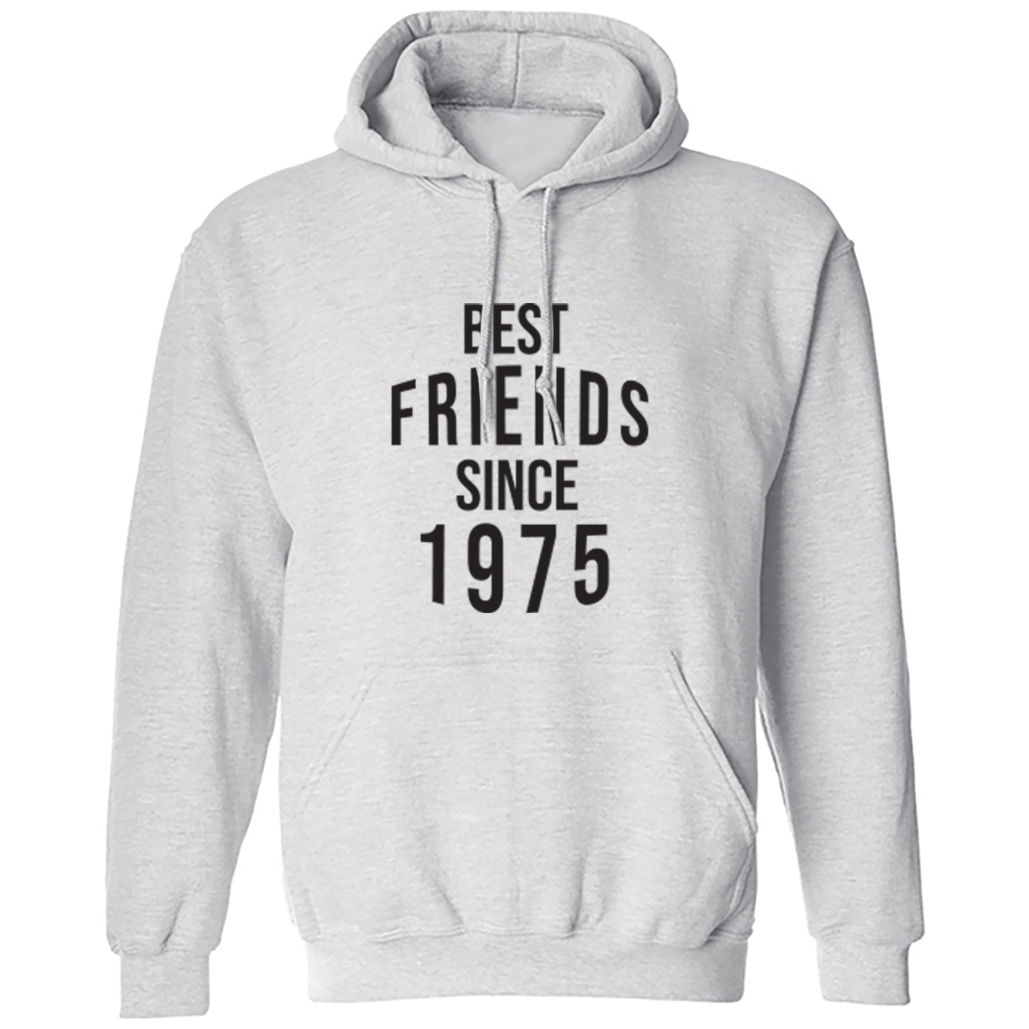 Best Friends Since 1975 Unisex Hoodie S0554 - Illustrated Identity Ltd.
