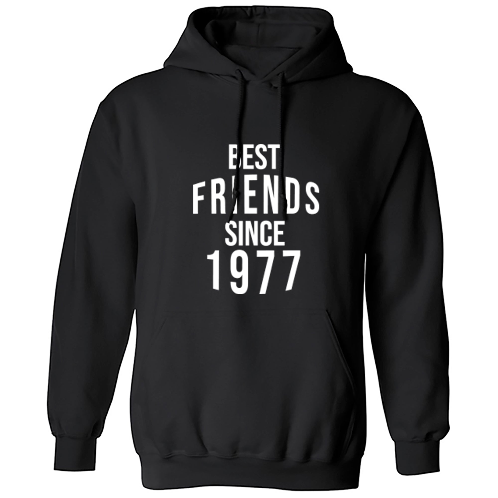 Best Friends Since 1977 Unisex Hoodie S0556 - Illustrated Identity Ltd.