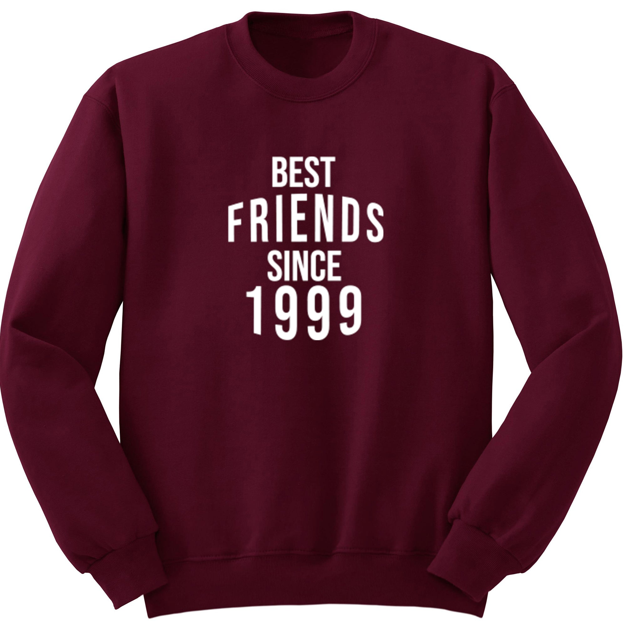 Best Friends Since 1999 Unisex Jumper S0578 - Illustrated Identity Ltd.