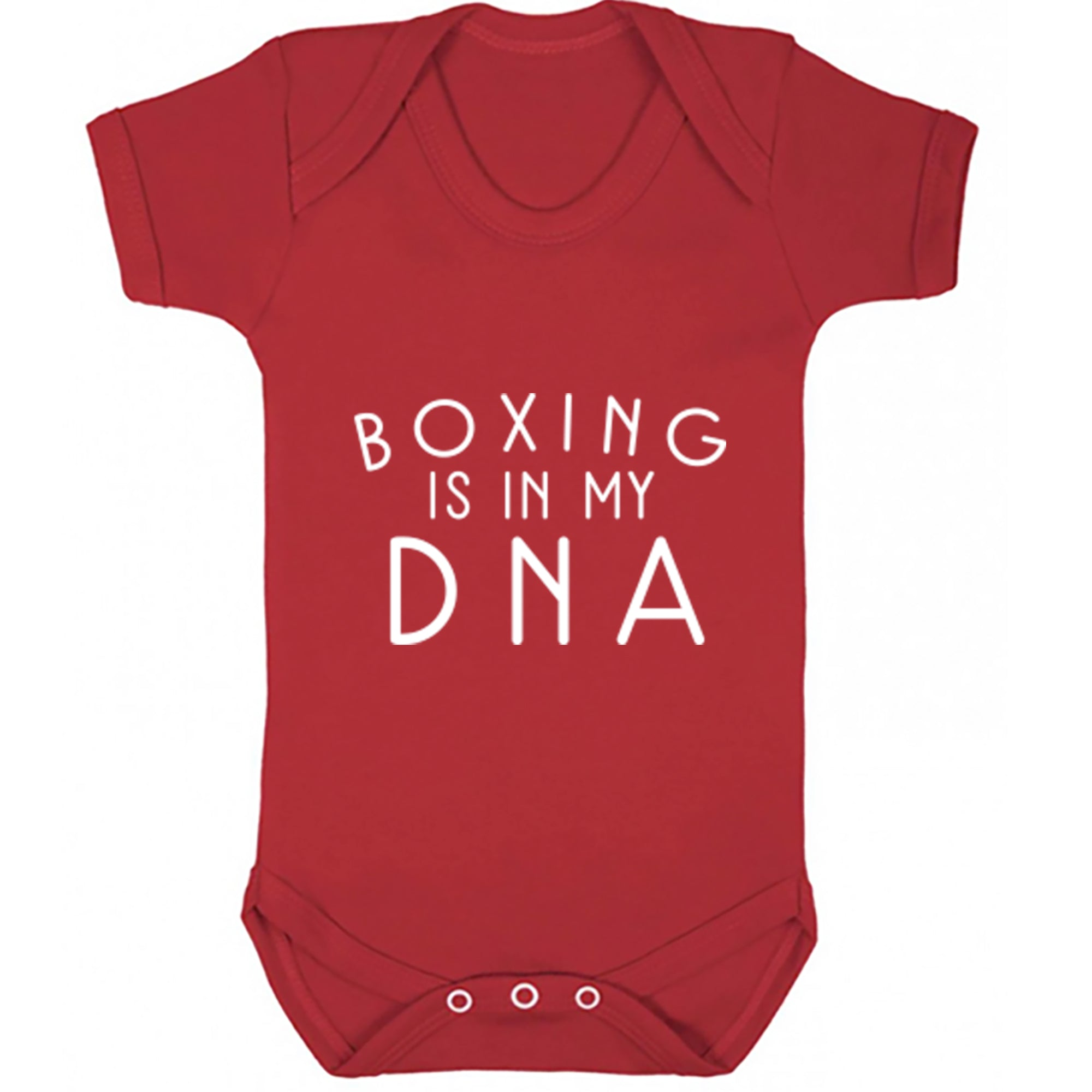 Boxing Is In My DNA Baby Vest S0694