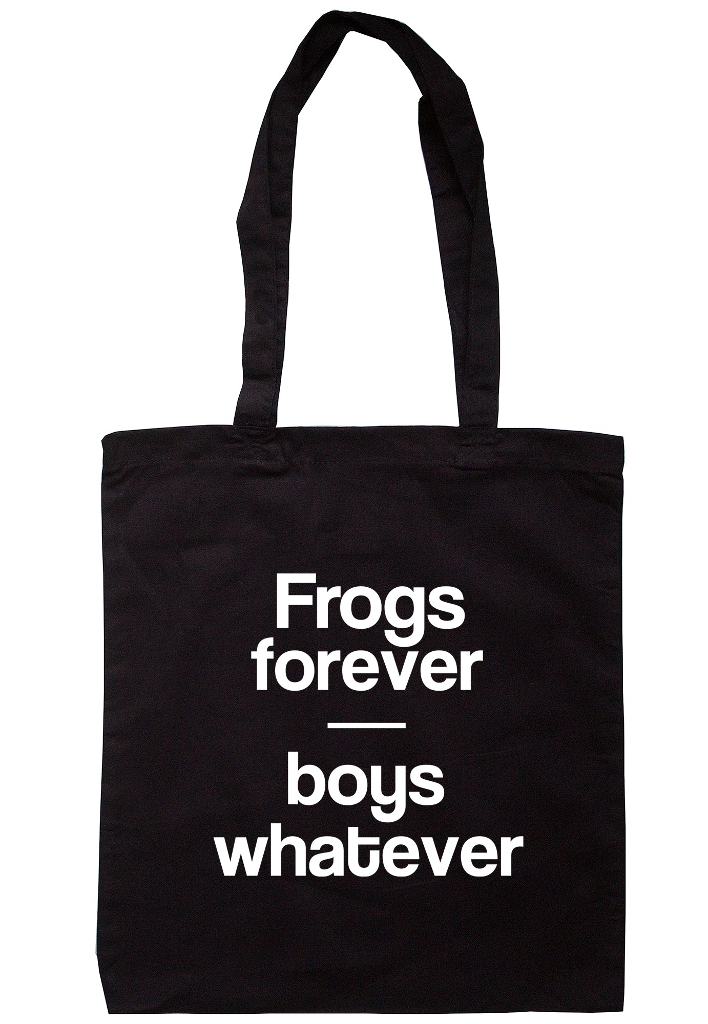 Frogs Forever Boys Whatever Tote Bag S0767