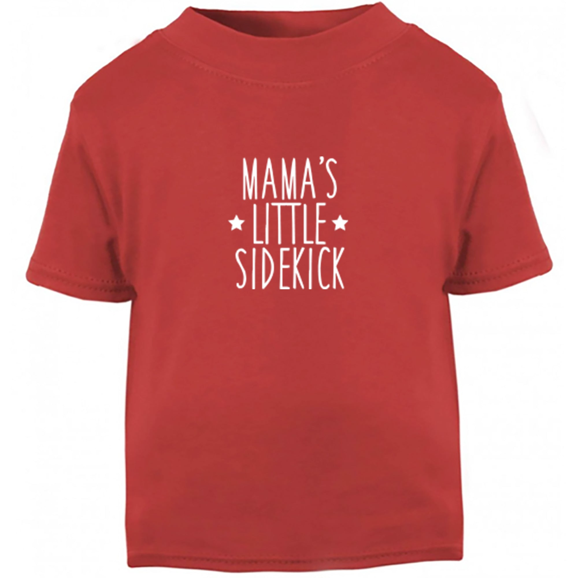 Mama's Little Sidekick Childrens Ages 3/4-12/14 Printed Fit T-Shirt S0902 - Illustrated Identity Ltd.