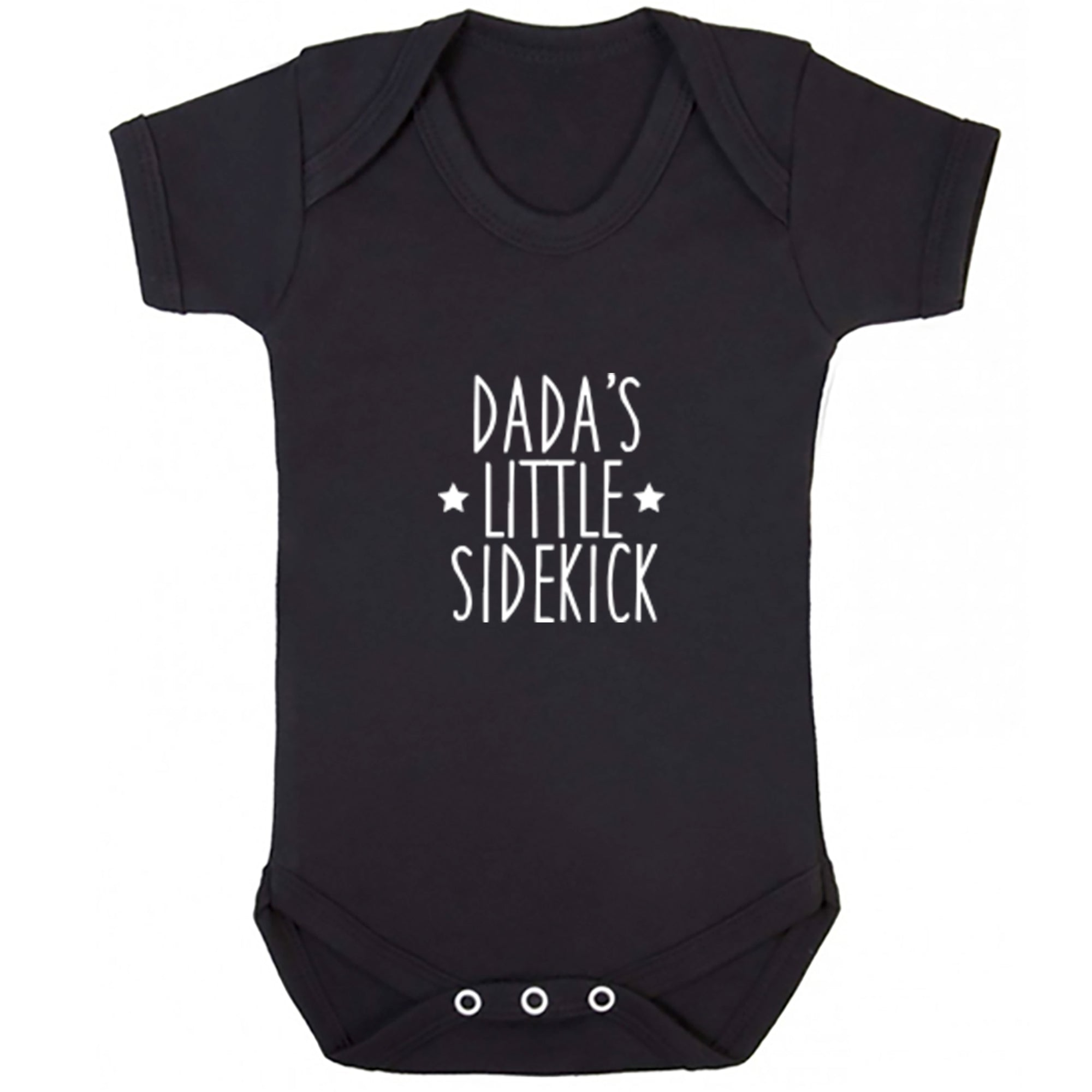 Dada's Little Sidekick Baby Vest S0903 - Illustrated Identity Ltd.