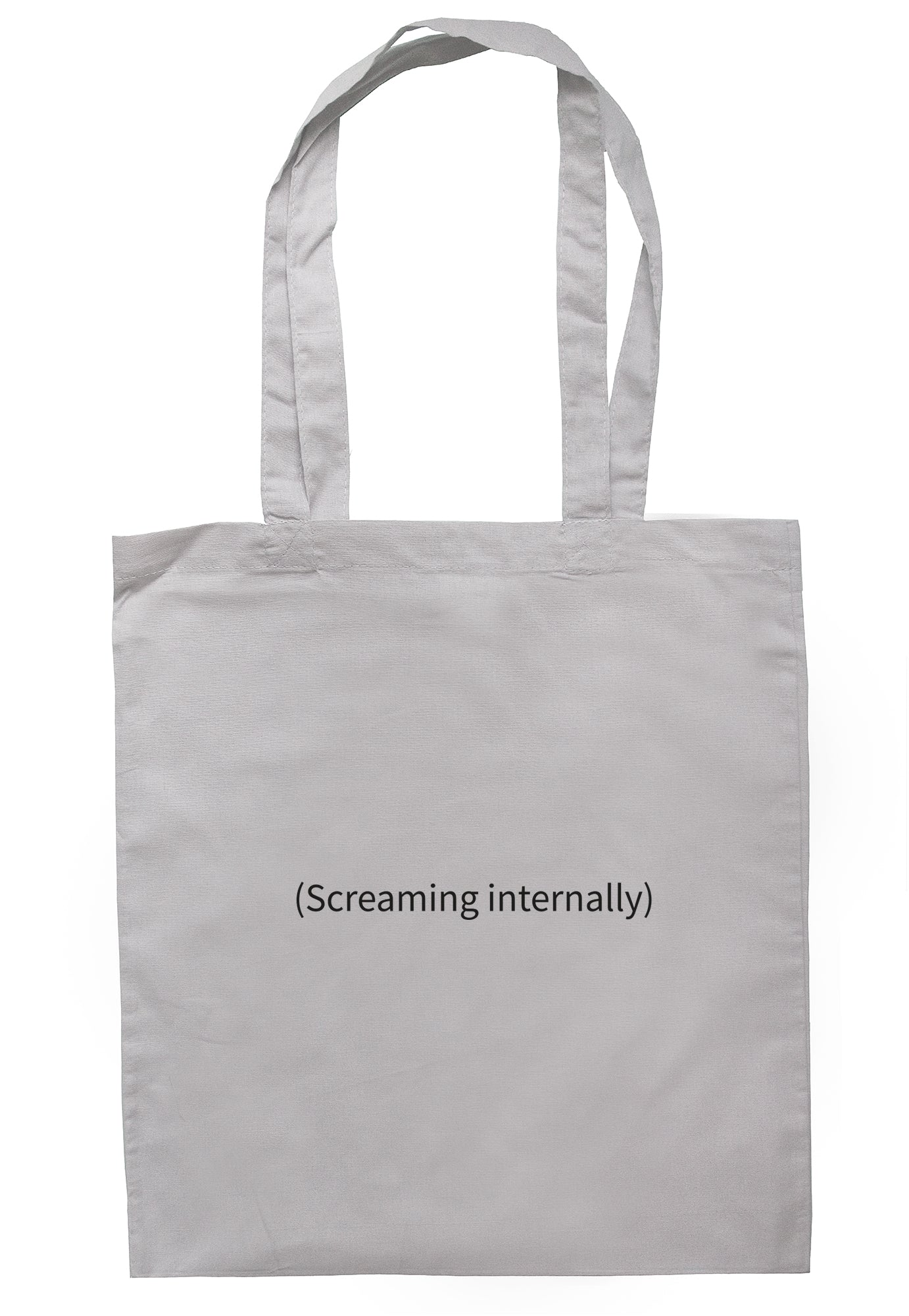 (Screaming Internally) Tote Bag S0981 - Illustrated Identity Ltd.