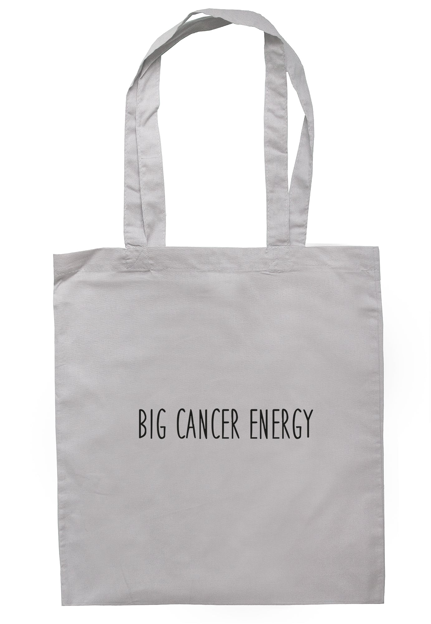 Big Cancer Energy Tote Bag S1021 - Illustrated Identity Ltd.