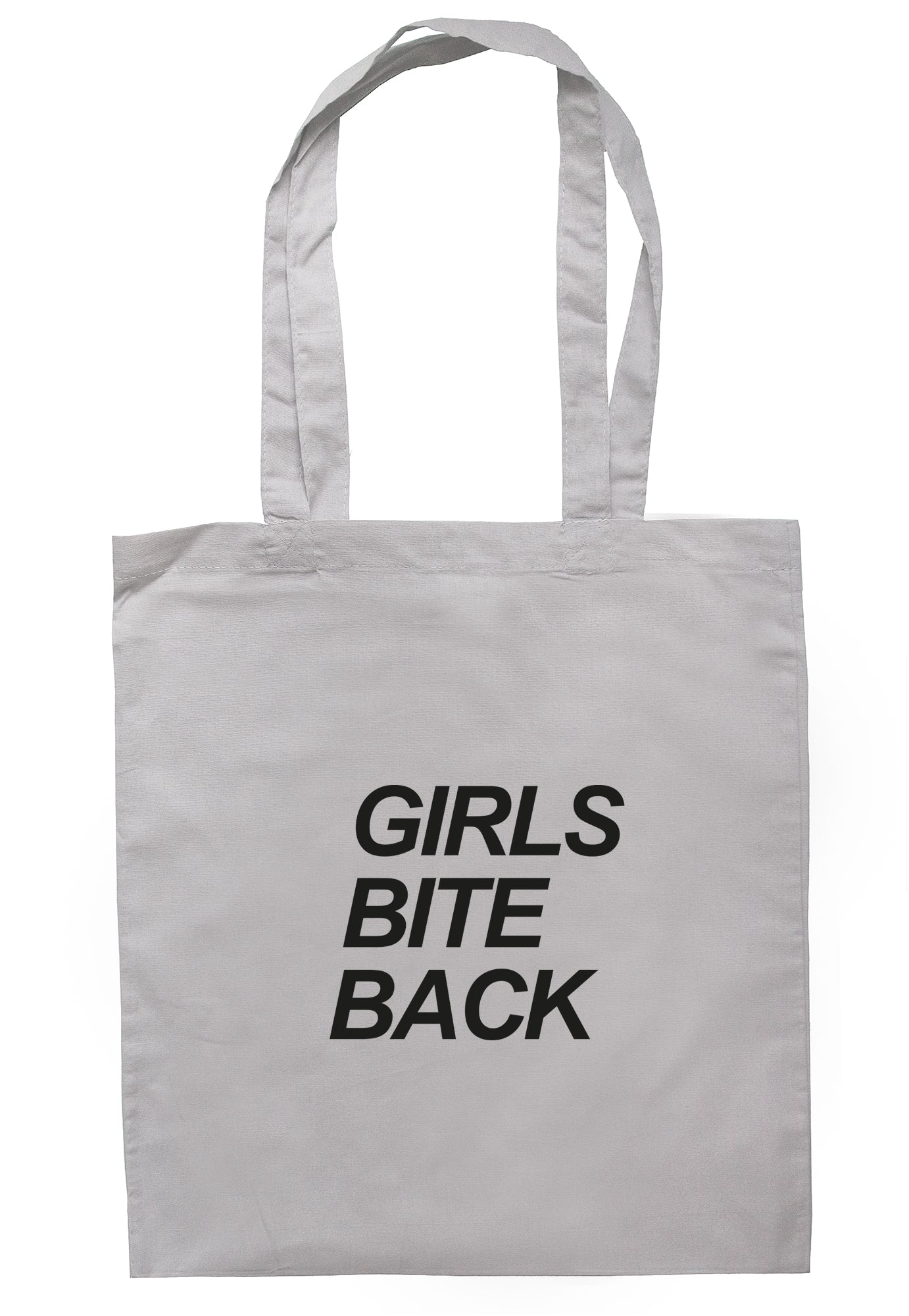 Girls Bite Back Tote Bag S1023 - Illustrated Identity Ltd.