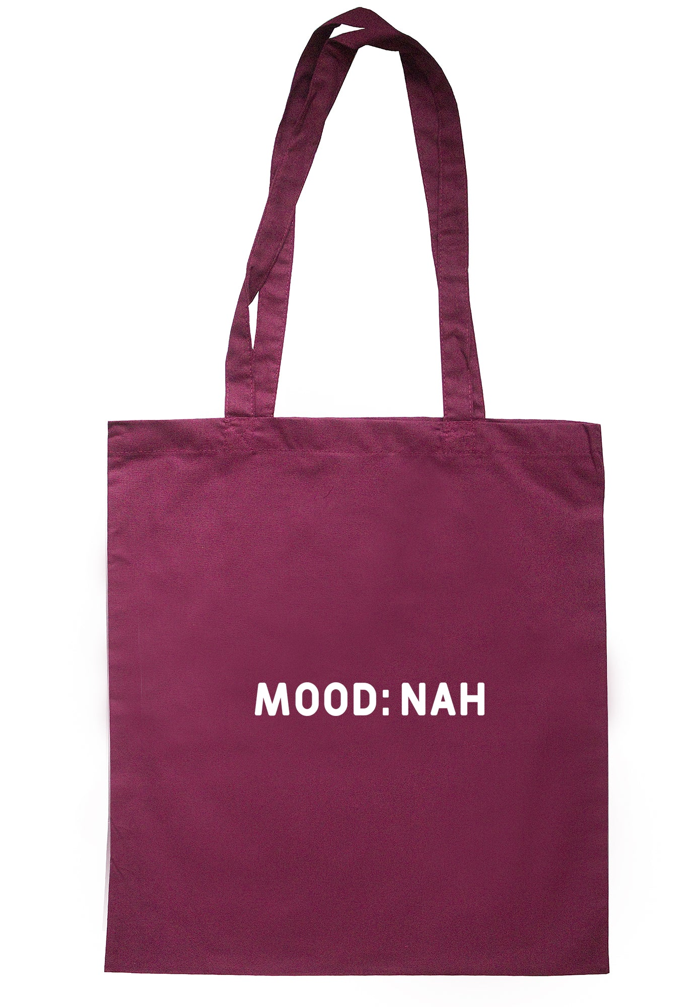 Mood: Nah Tote Bag S1031 - Illustrated Identity Ltd.
