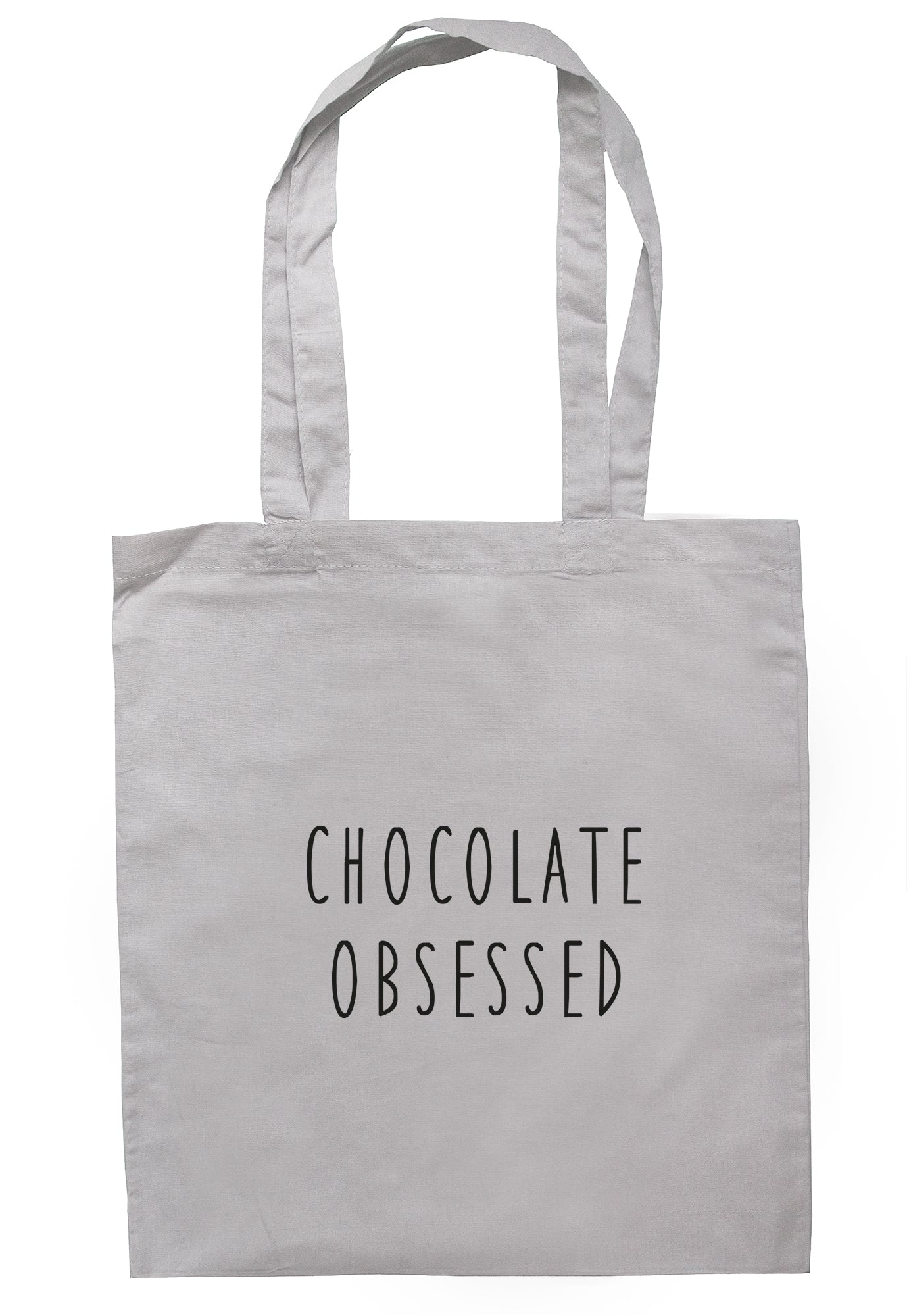 Chocolate Obsessed Tote Bag S1078 - Illustrated Identity Ltd.