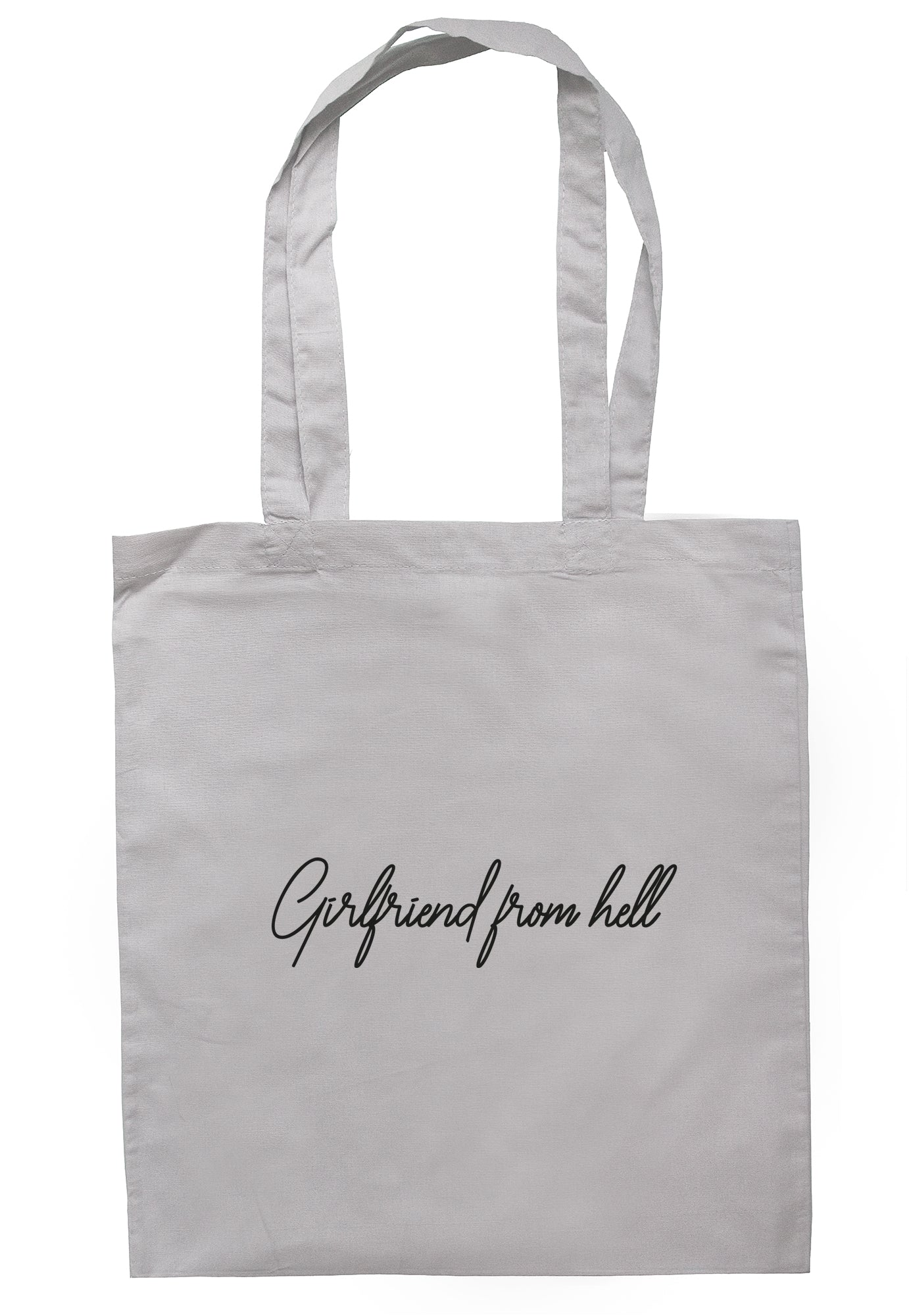Girlfriend From Hell Tote Bag S1085 - Illustrated Identity Ltd.