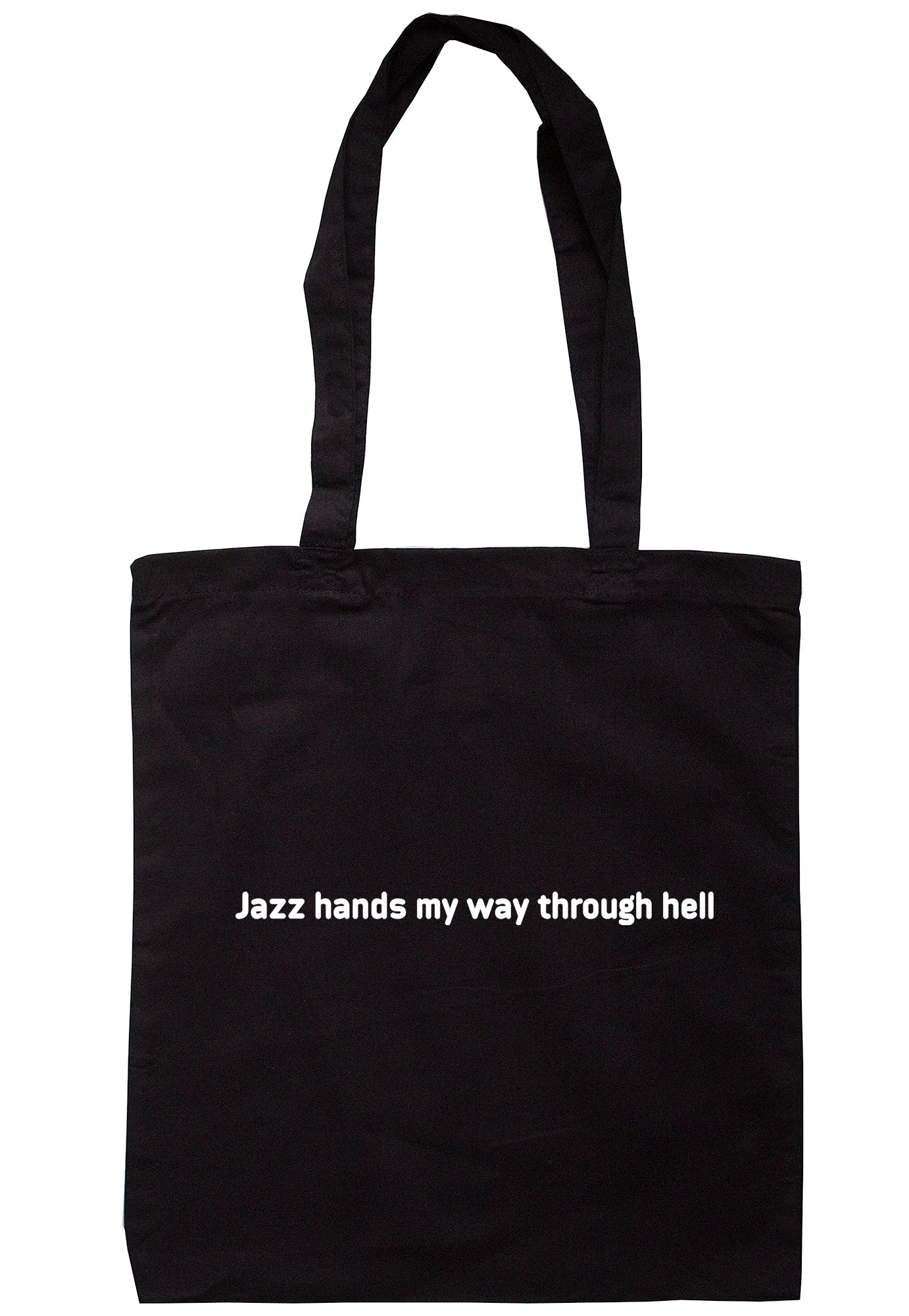 Jazz Hands My Way Through Hell Tote Bag S1115 - Illustrated Identity Ltd.