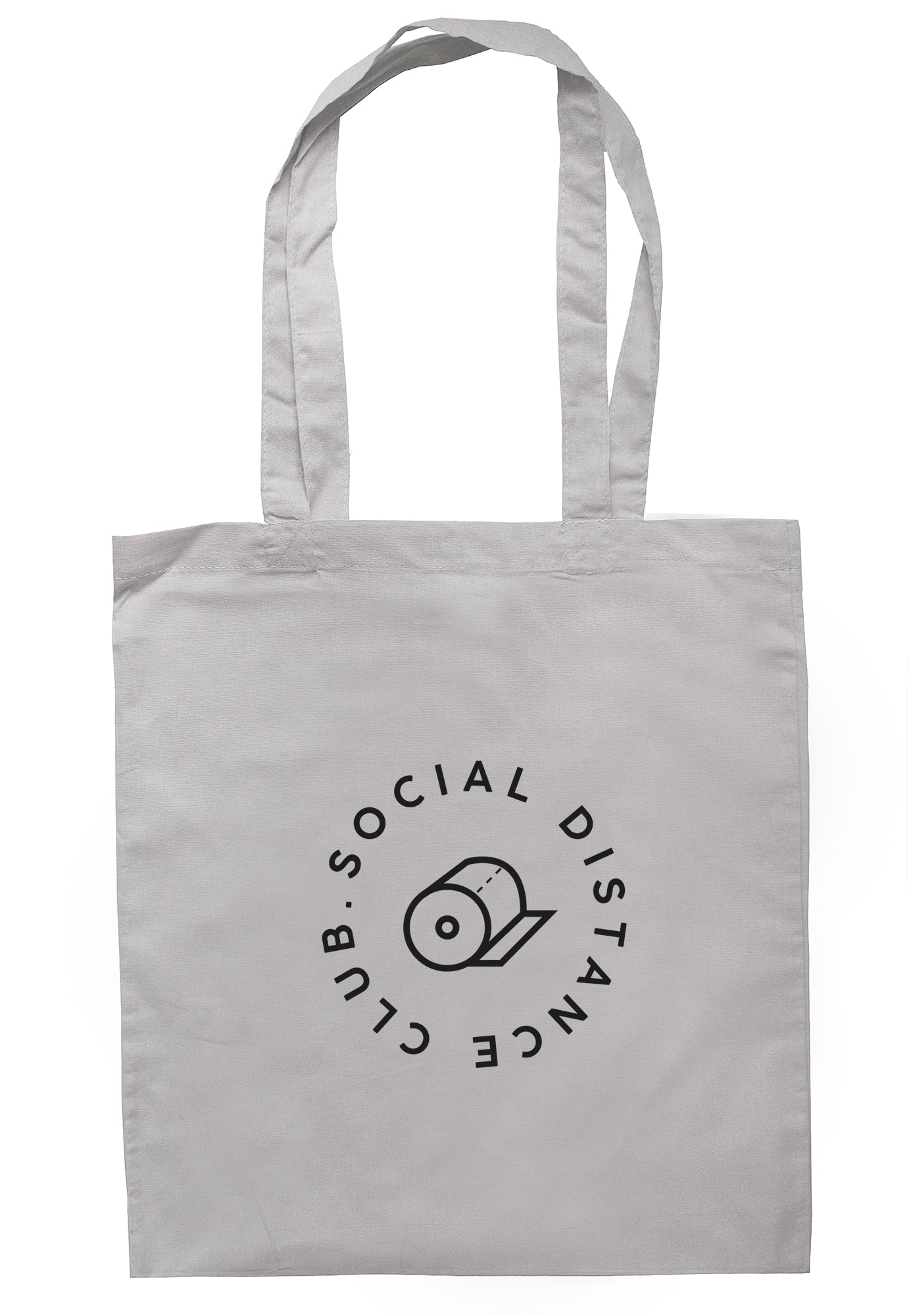Social Distance Club Tote Bag S1130 - Illustrated Identity Ltd.