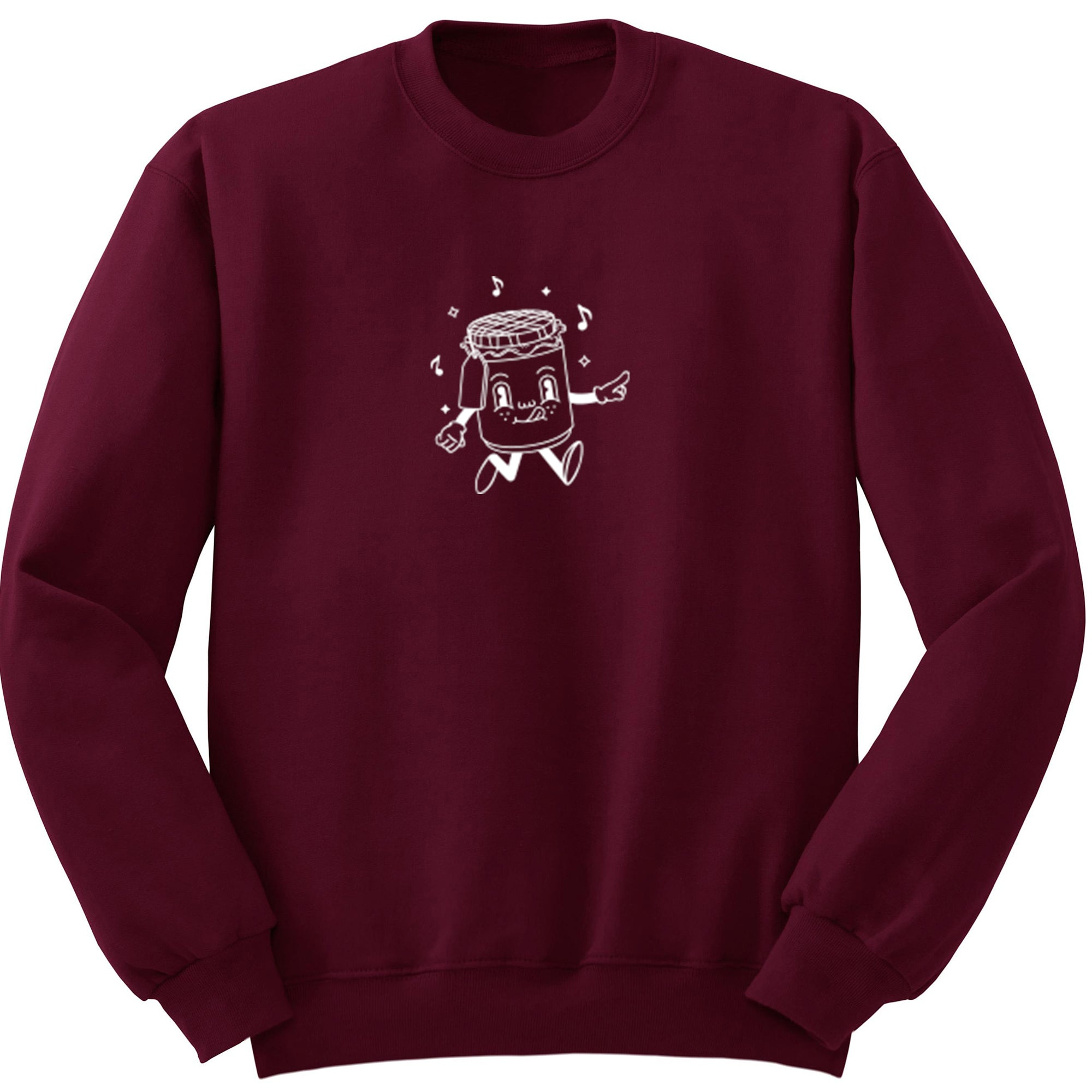 Jam Illustration Unisex Jumper S1151 - Illustrated Identity Ltd.