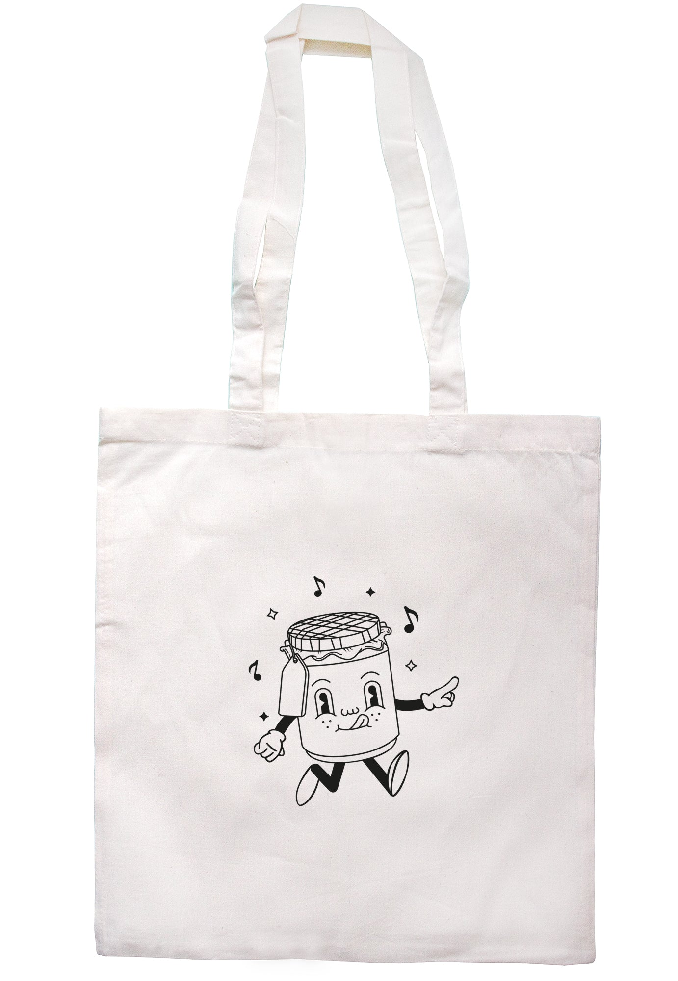 Jam Illustration Tote Bag S1151 - Illustrated Identity Ltd.