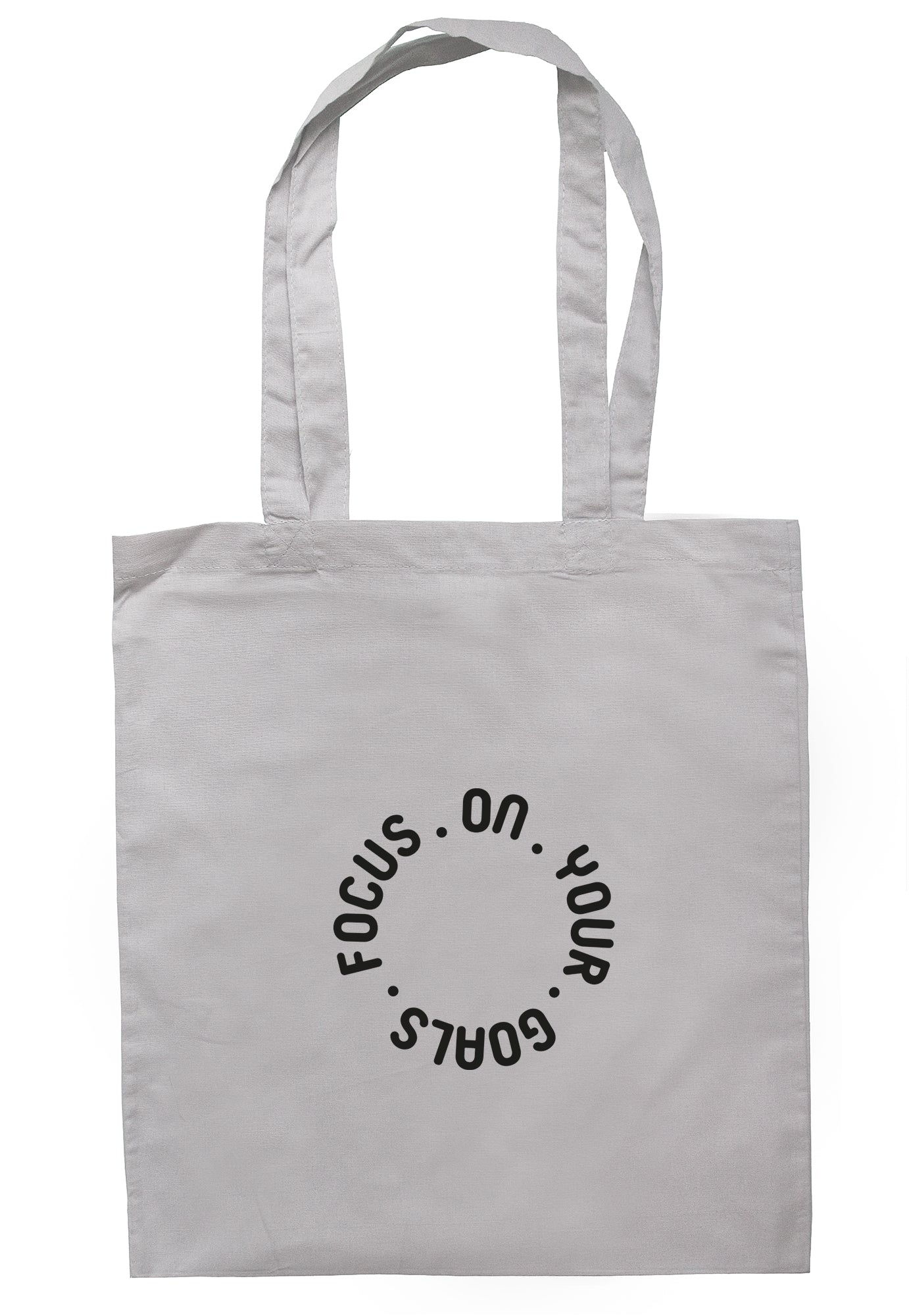 Focus On Your Goals Tote Bag S1174 - Illustrated Identity Ltd.