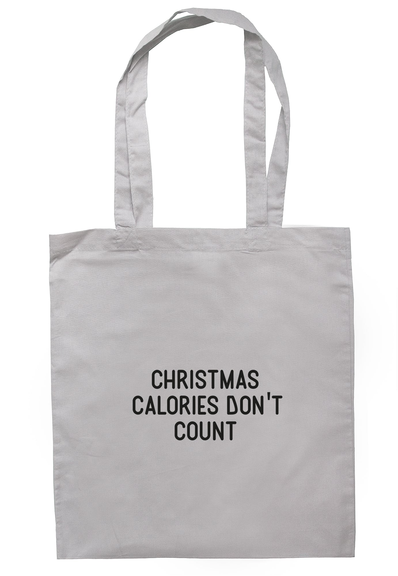 Christmas Calories Don't Count Tote Bag S1176