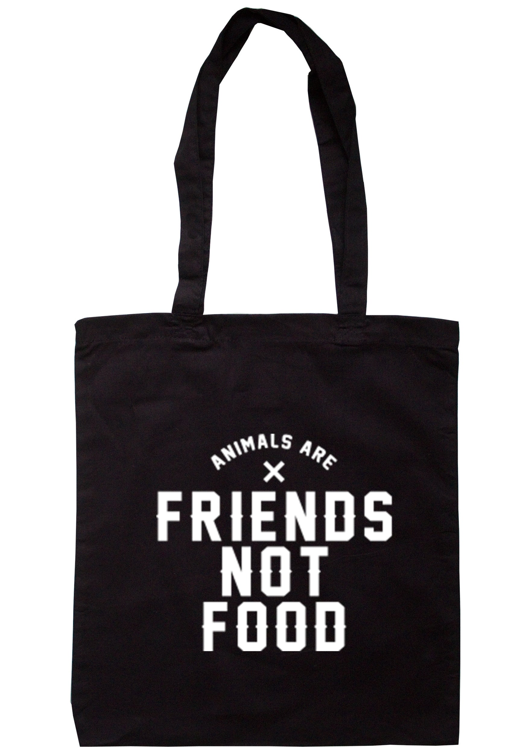 Animals Are Friends Not Food Tote Bag TB0227