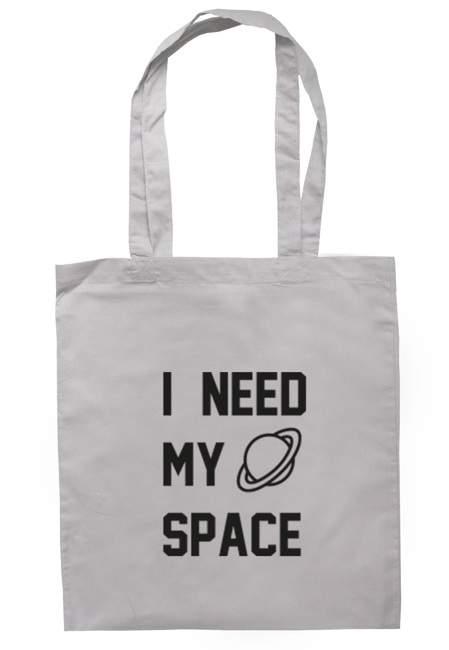 I Need My Space Tote Bag TB0337 - Illustrated Identity Ltd.