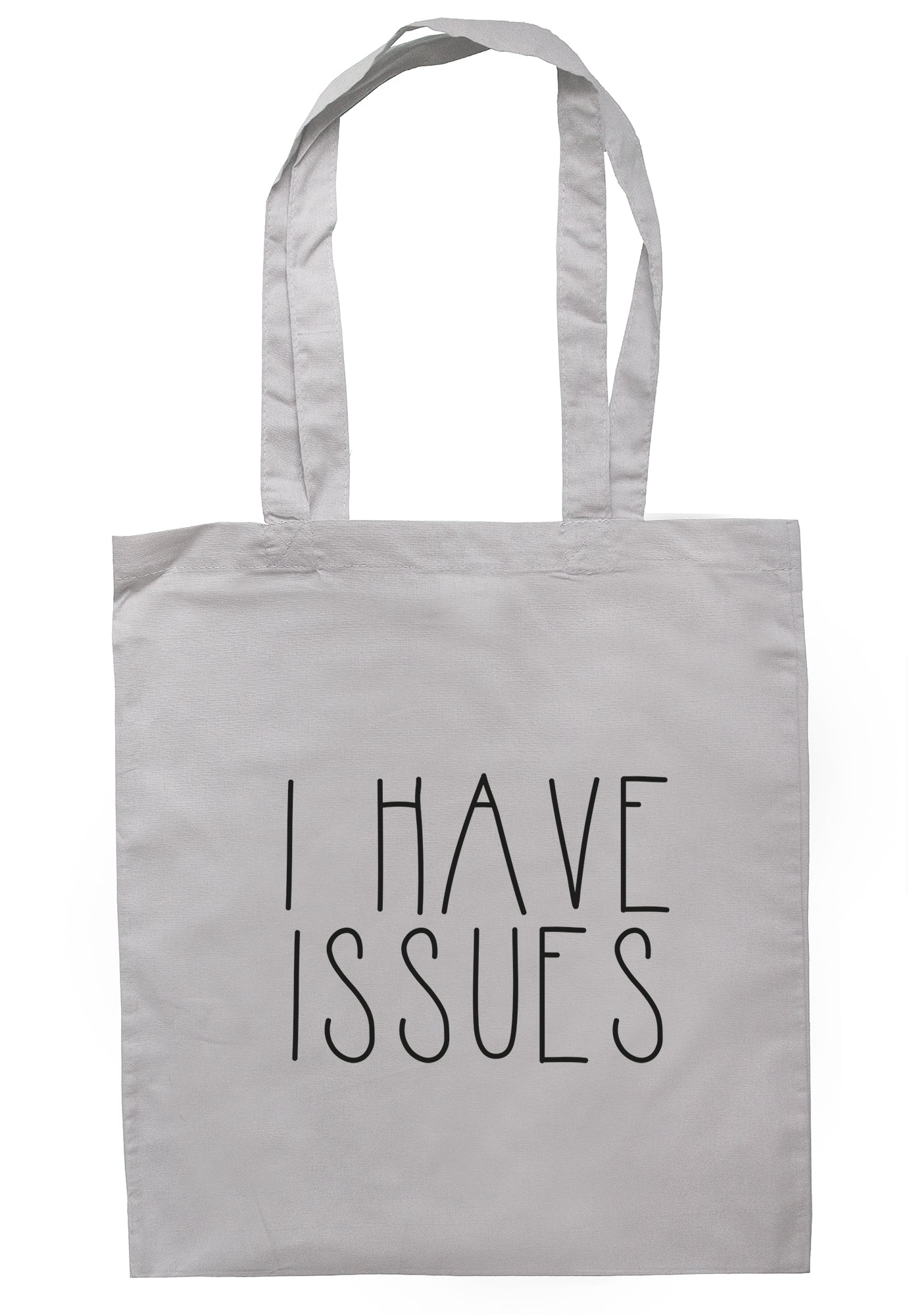 I Have Issues Tote Bag TB1950 - Illustrated Identity Ltd.