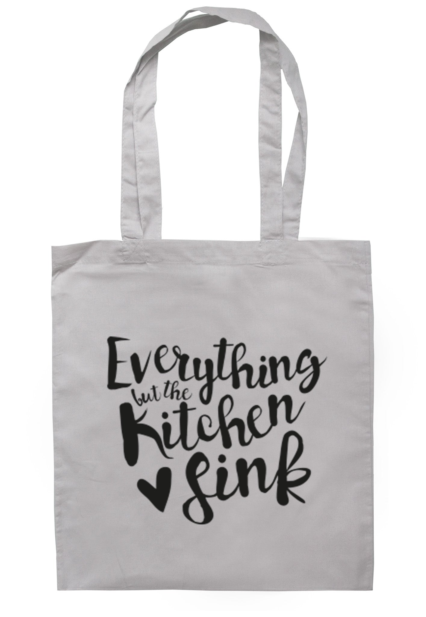 Everything But The Kitchen Sink Tote Bag TB0002 - Illustrated Identity Ltd.