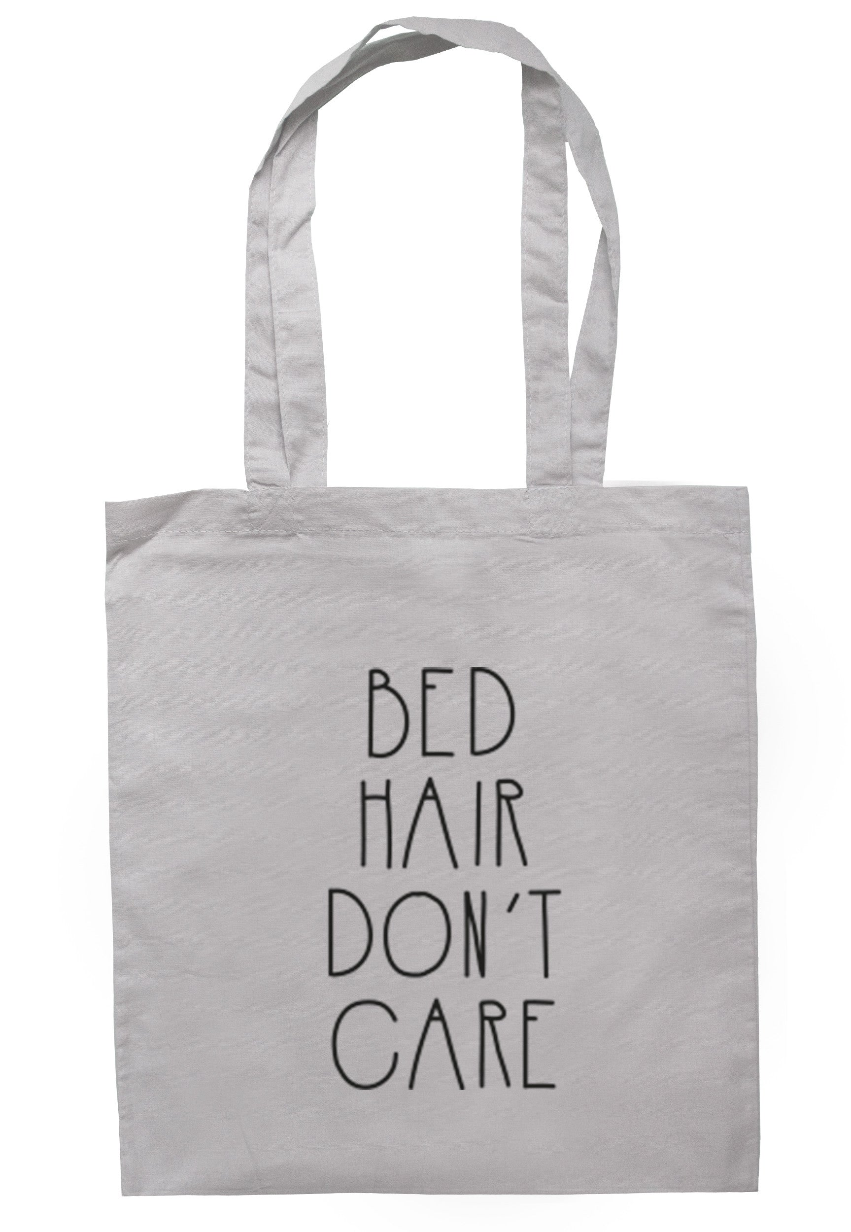 Bed Hair Don't Care Tote Bag TB0252 - Illustrated Identity Ltd.