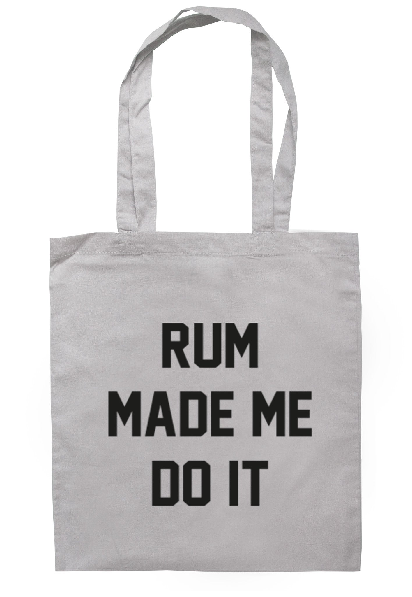 Rum Made Me Do It Tote Bag TB0020 - Illustrated Identity Ltd.