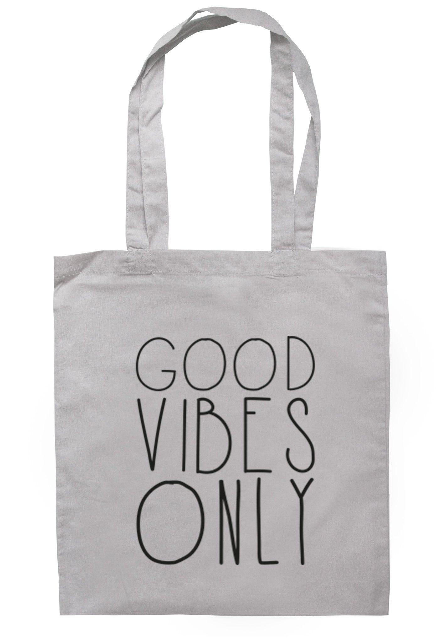 Good Vibes Only Tote Bag TB0086 - Illustrated Identity Ltd.
