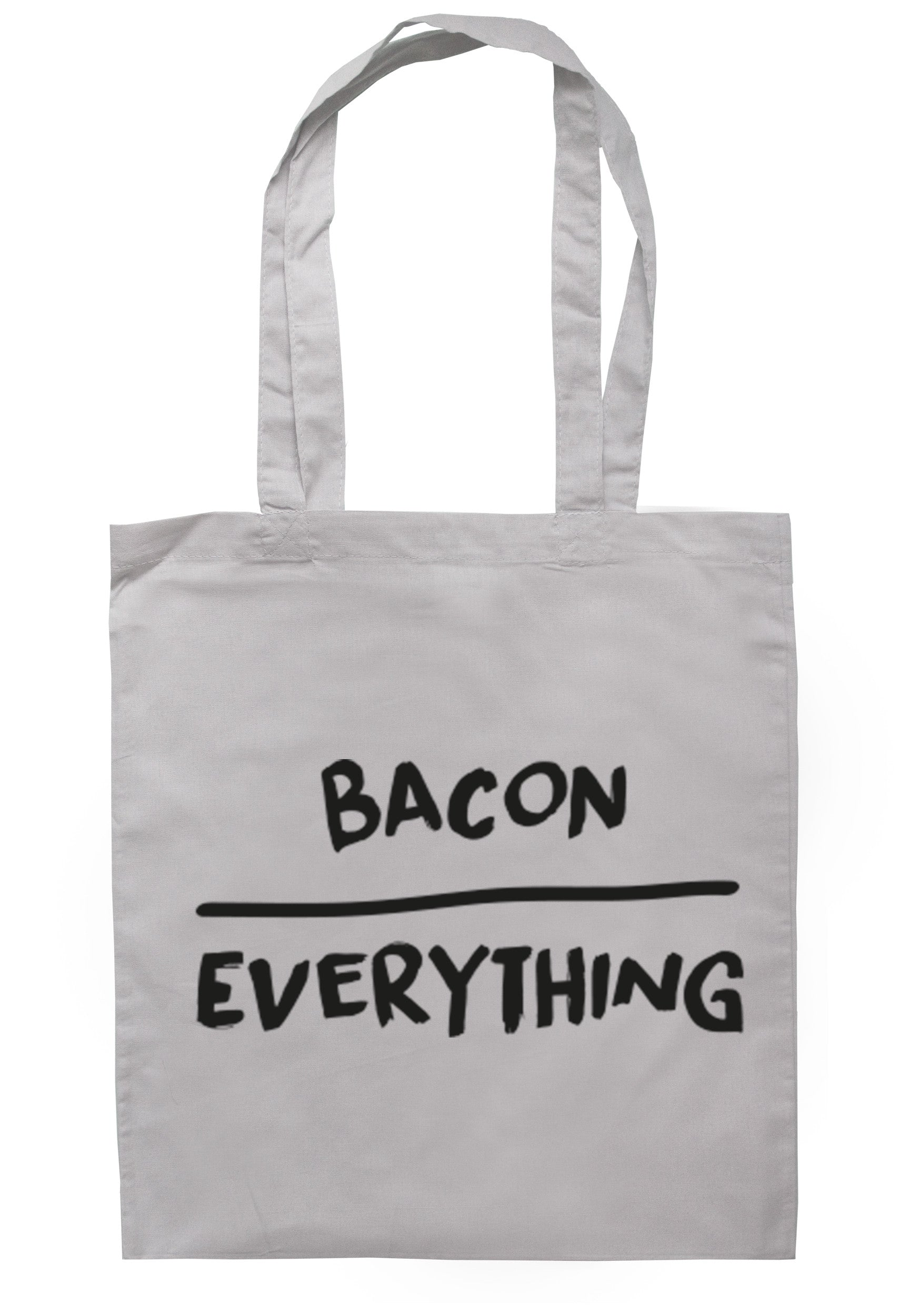 Bacon Over Everything Tote Bag TB0116 - Illustrated Identity Ltd.
