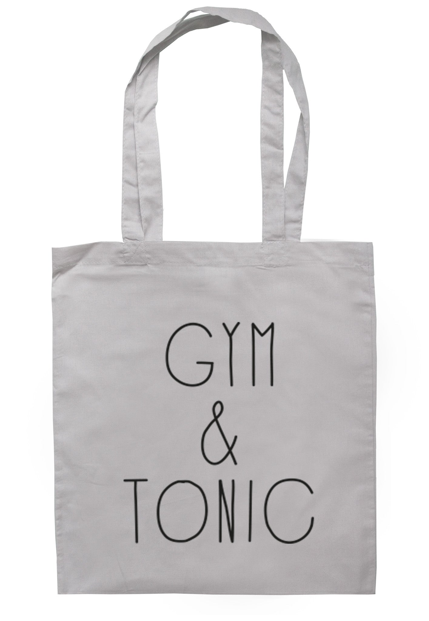 Gym & Tonic Tote Bag TB0089 - Illustrated Identity Ltd.