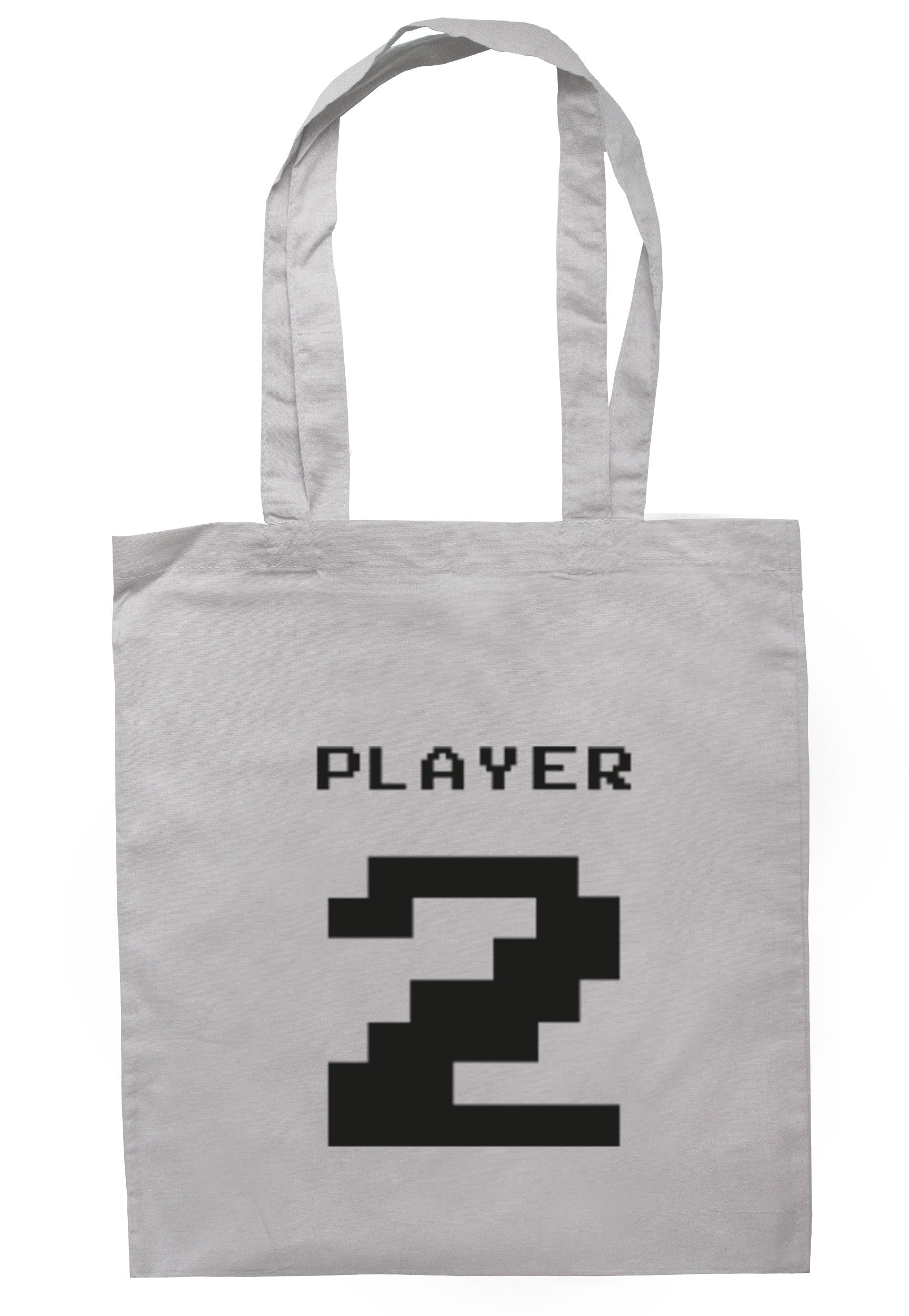 Player 2 Tote Bag TB0340 - Illustrated Identity Ltd.