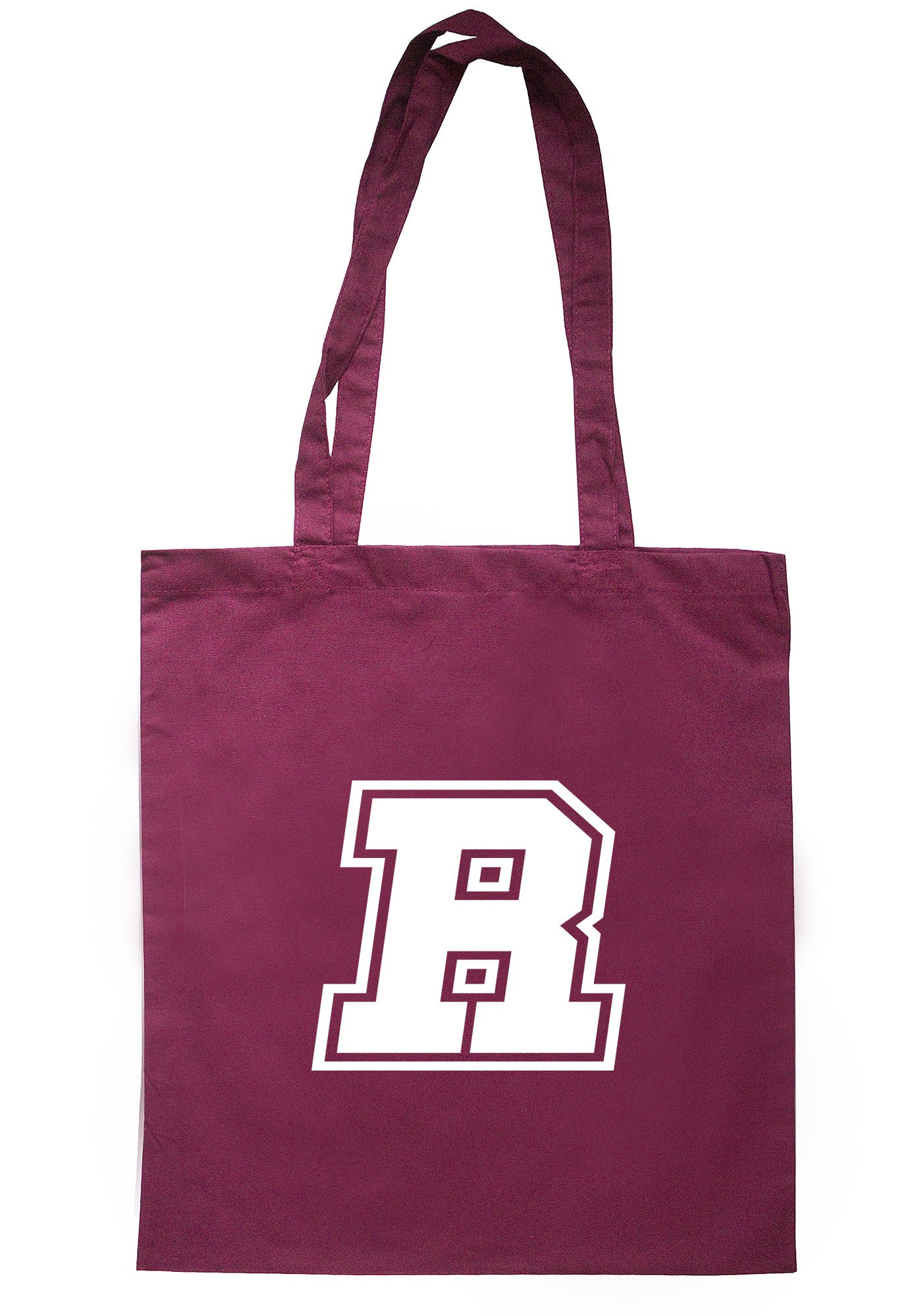 Letter 'R' Initial Tote Bag TB0728 - Illustrated Identity Ltd.