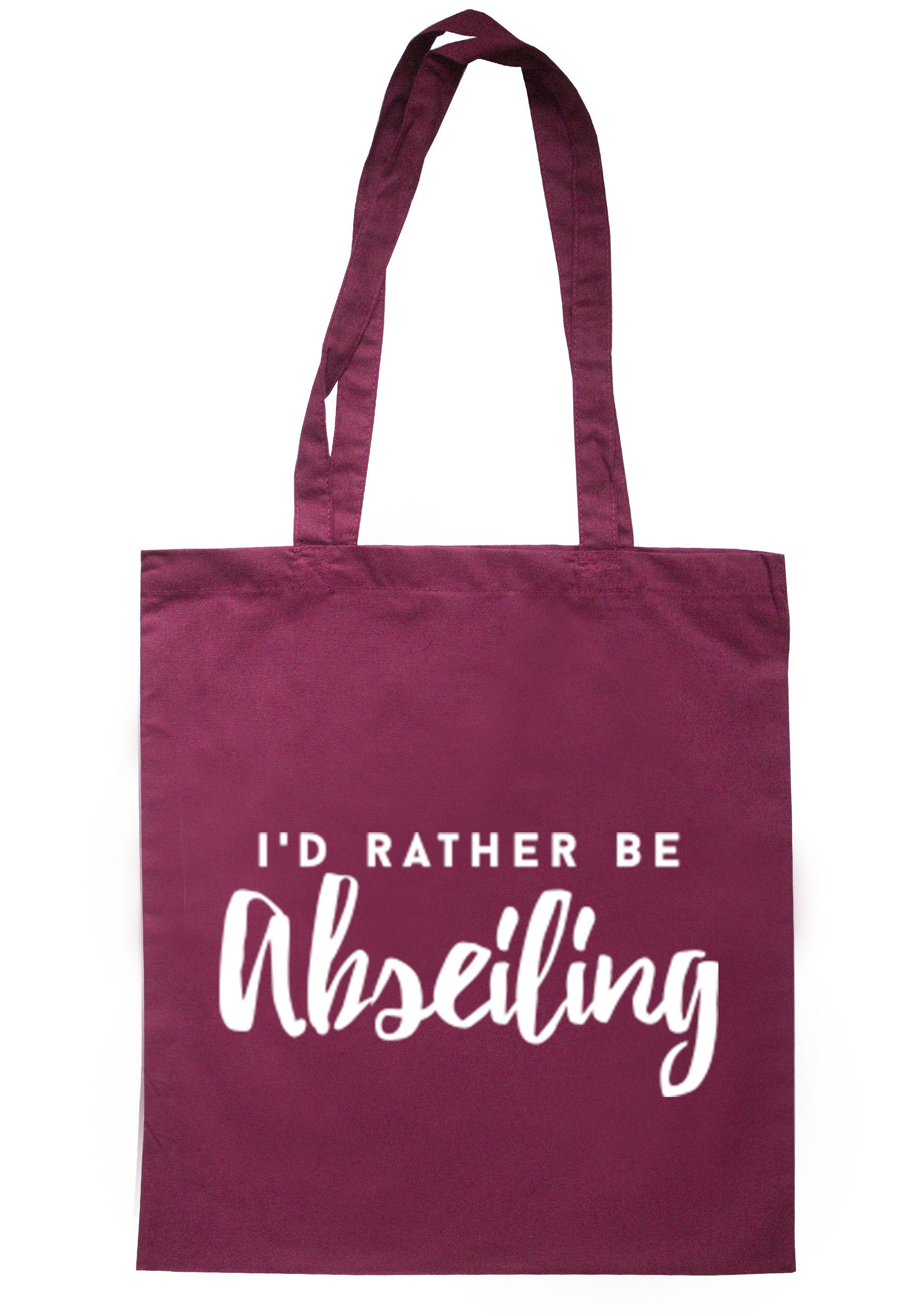 I'd Rather Be Abseiling Tote Bag TB0155 - Illustrated Identity Ltd.