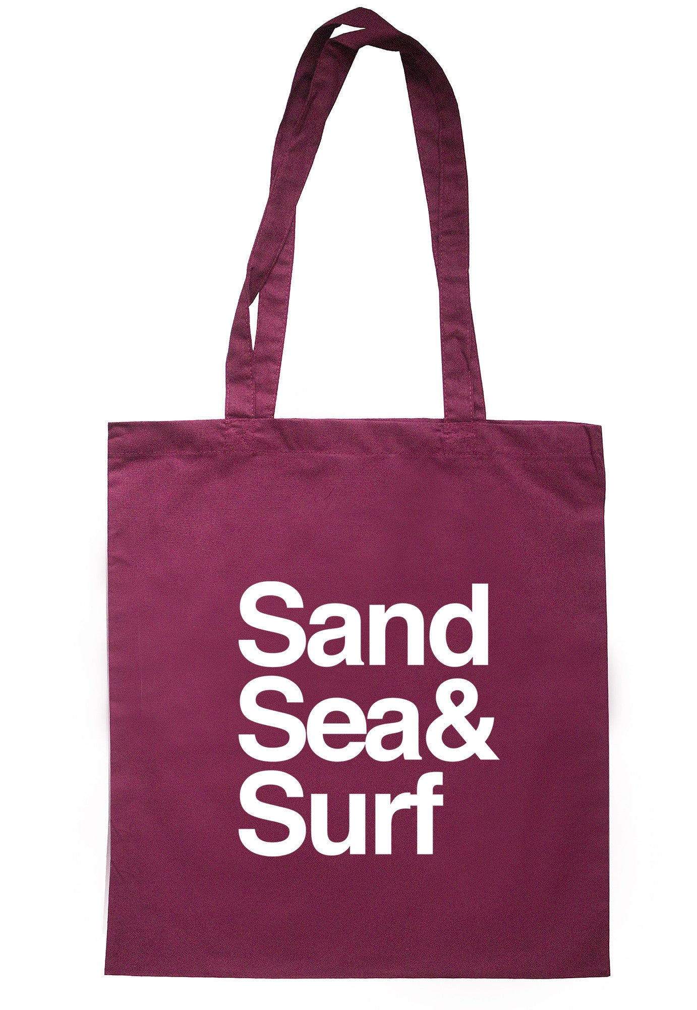 Sand Sea & Surf Tote Bag TB0568 - Illustrated Identity Ltd.