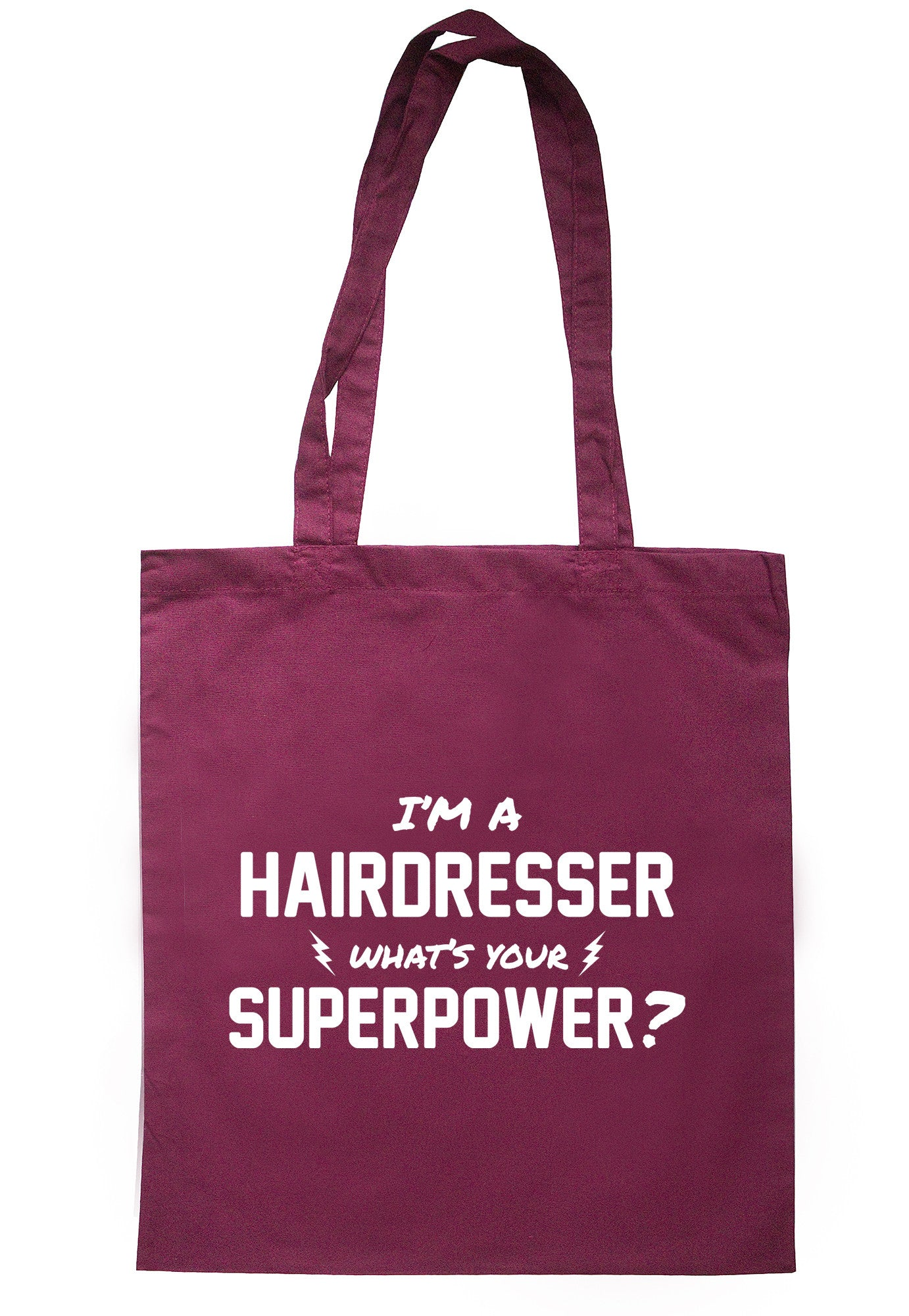 I'm A Hairdresser What's Your Superpower? Tote Bag TB0521 - Illustrated Identity Ltd.