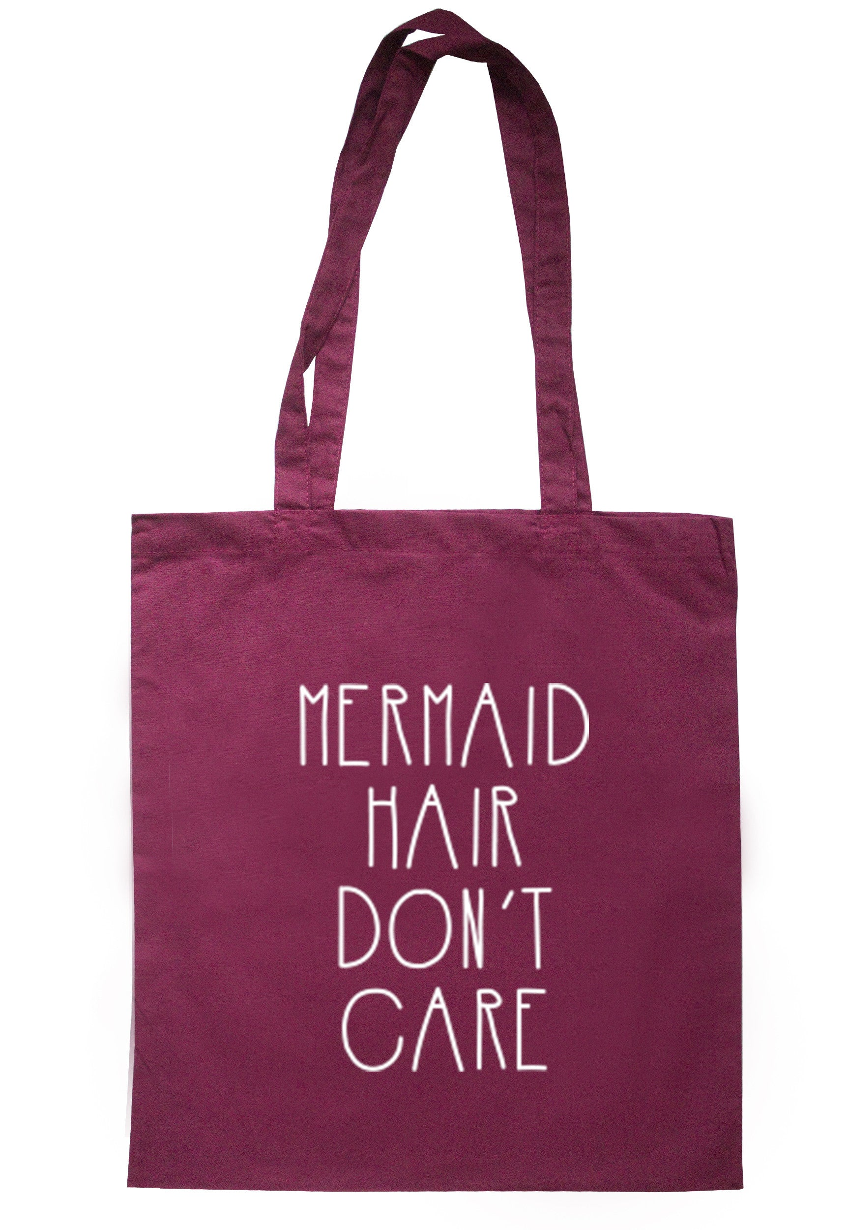 Mermaid Hair Don't Care Tote Bag TB0250 - Illustrated Identity Ltd.