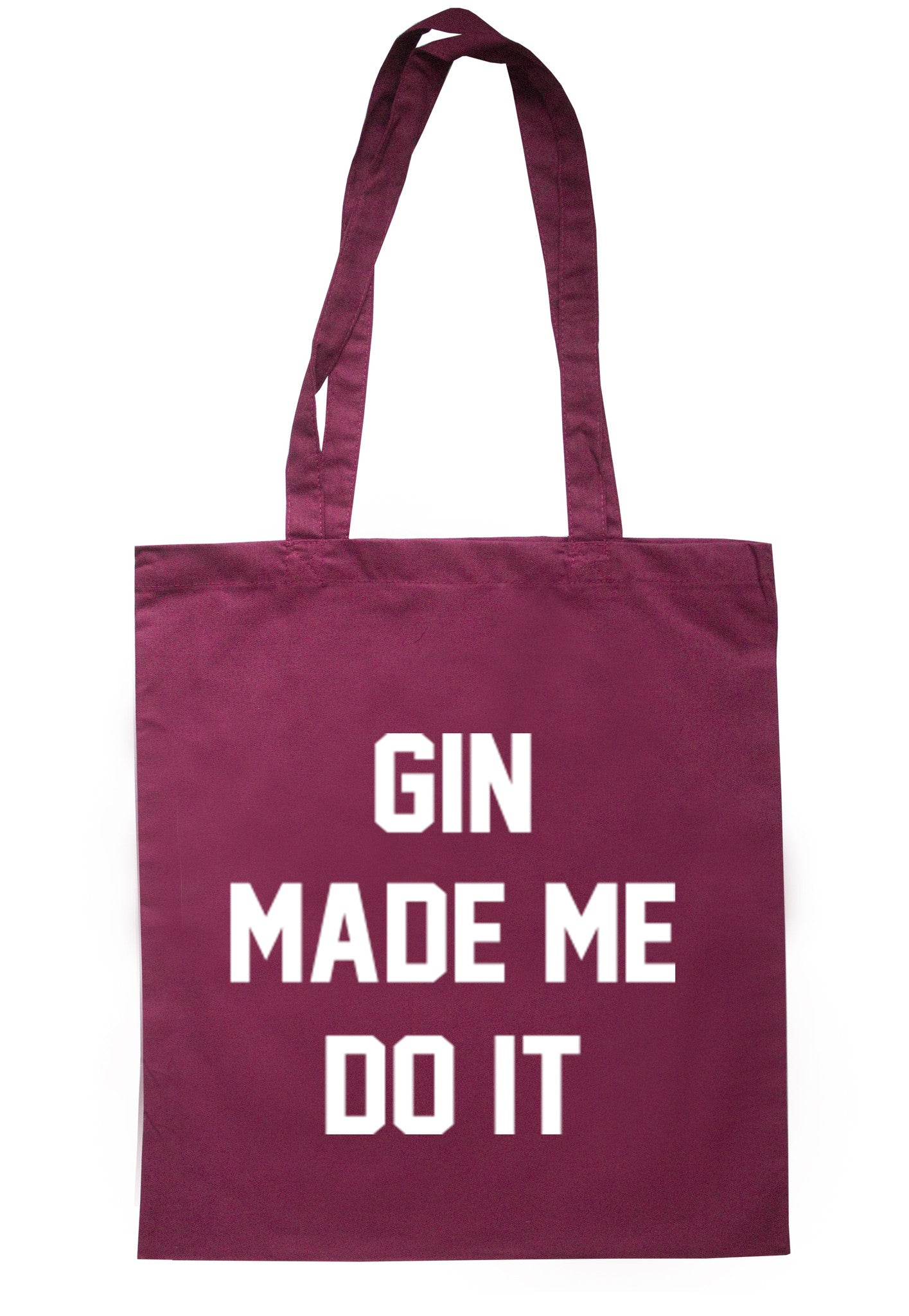 Gin Made Me Do It Tote Bag TB0019 - Illustrated Identity Ltd.