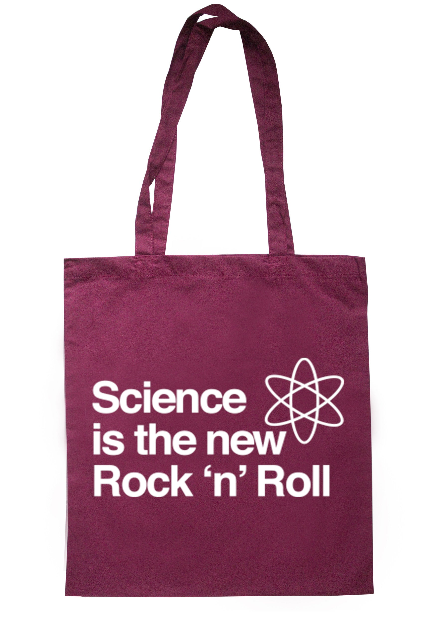 Science Is The New Rock & Roll Tote Bag TB0134 - Illustrated Identity Ltd.