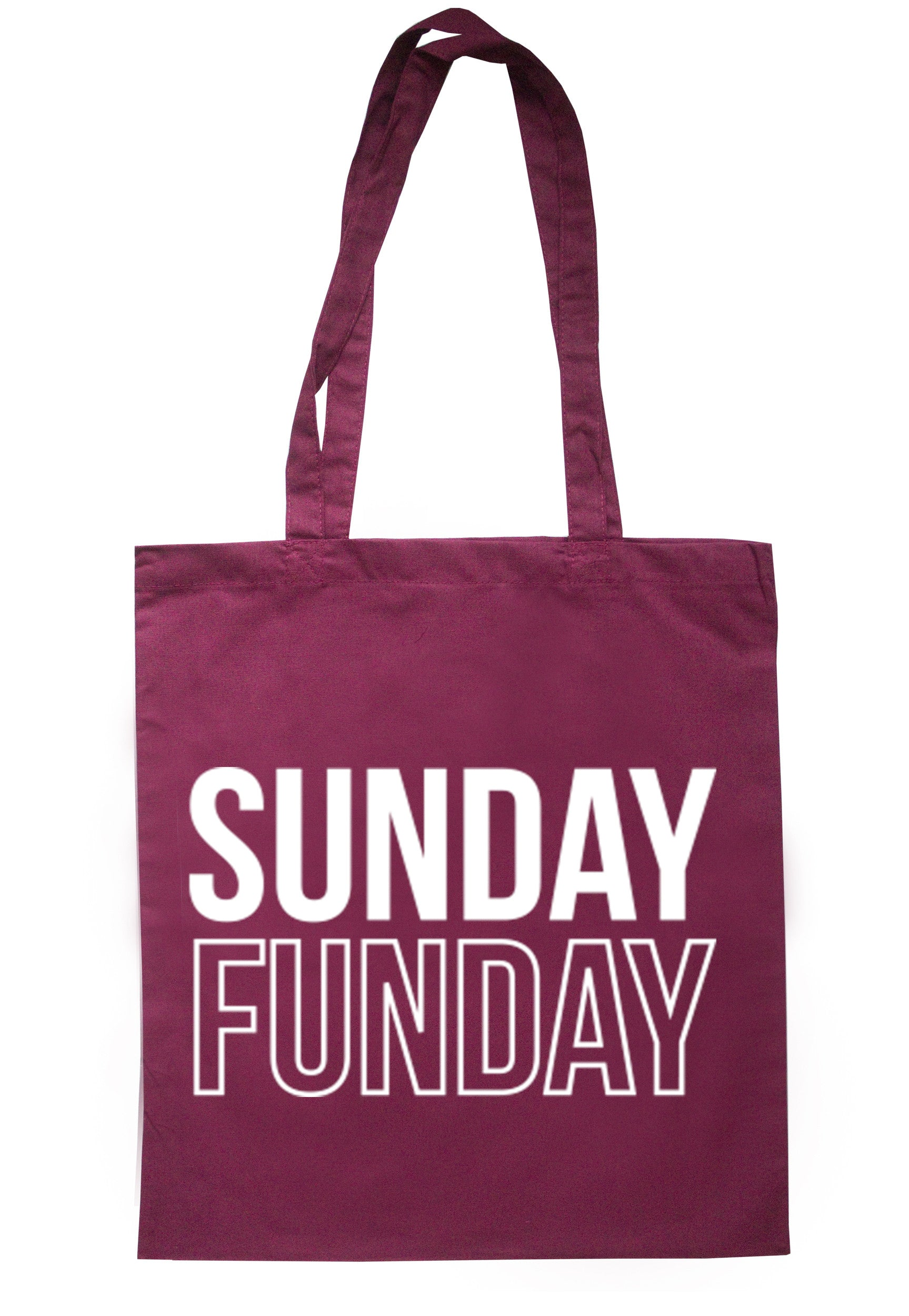 Sunday Funday Tote Bag TB0139 - Illustrated Identity Ltd.