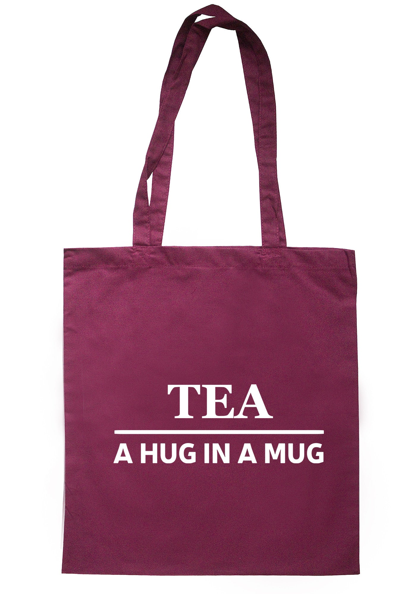 Tea A Hug In A Mug Tote Bag TB0486 - Illustrated Identity Ltd.