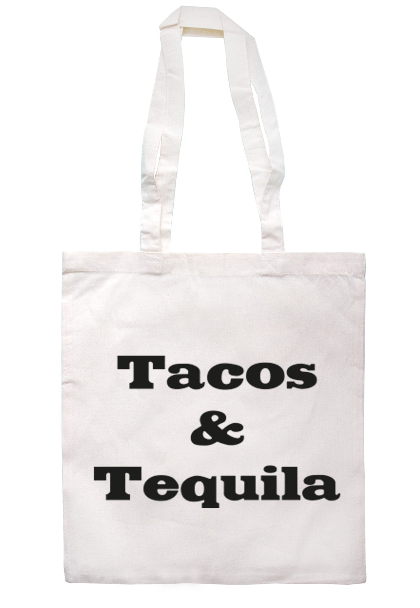 Tacos & Tequila Tote Bag TB0027 - Illustrated Identity Ltd.