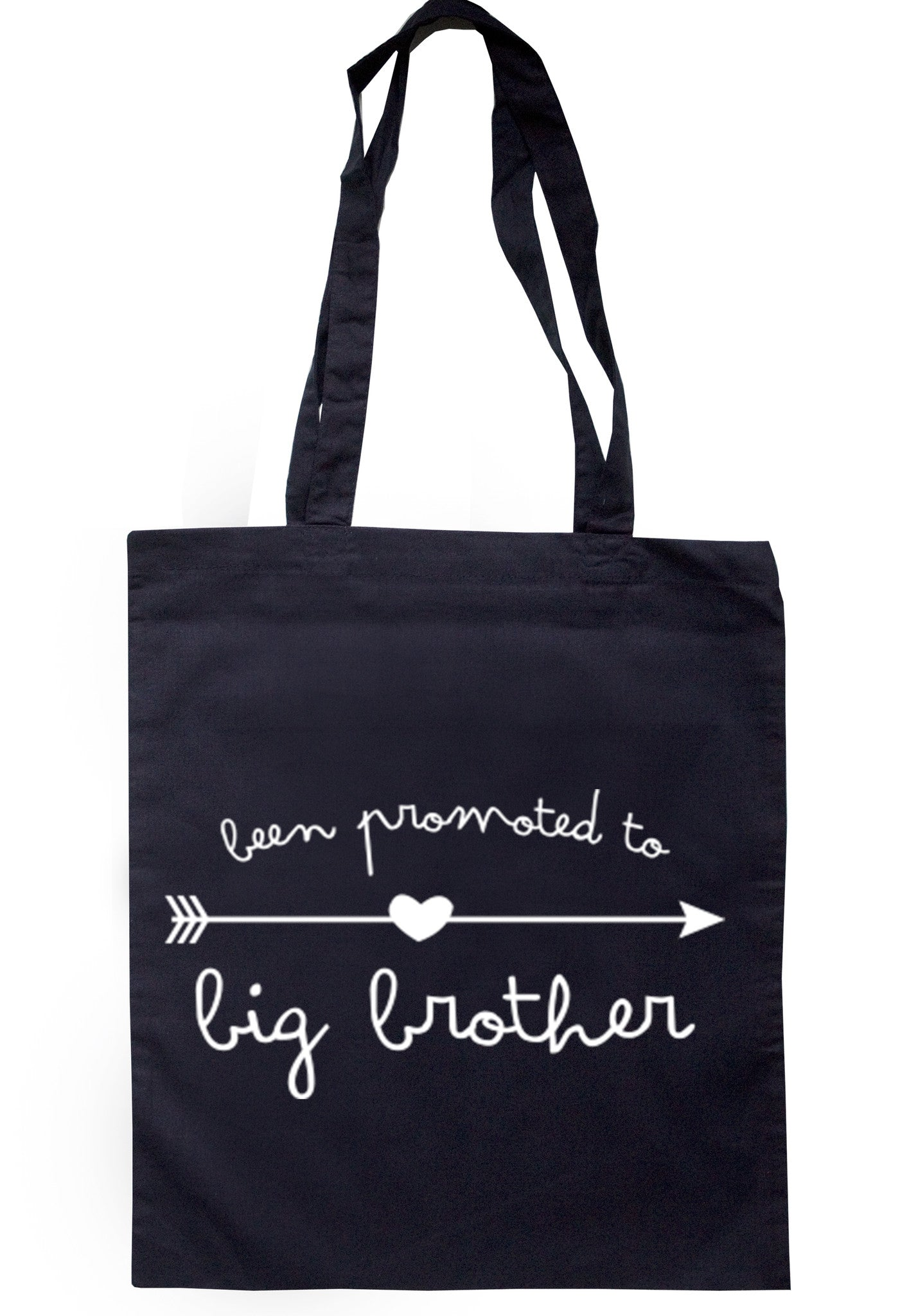 Been Promoted To Big Brother Tote Bag TB0025 - Illustrated Identity Ltd.